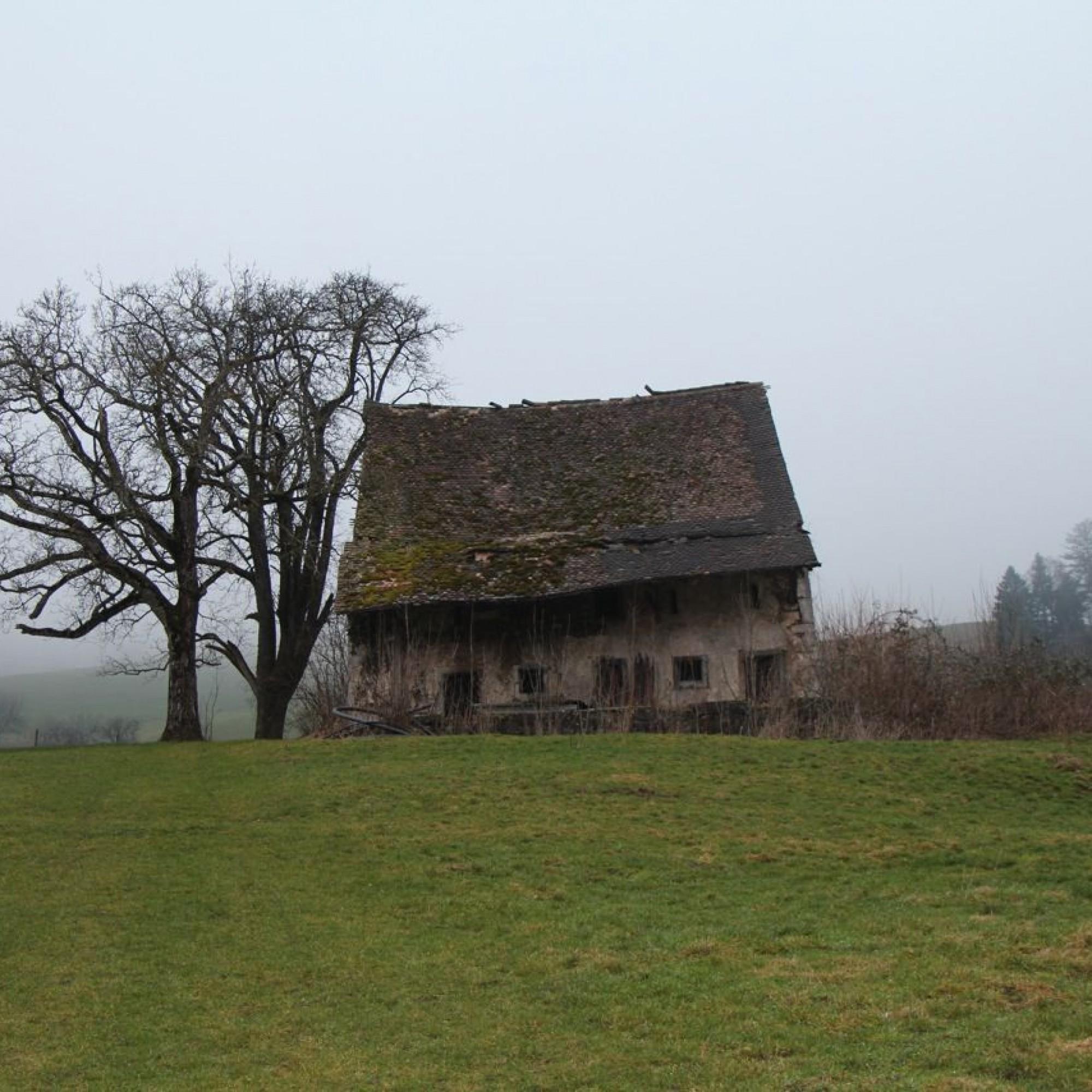 Feldscheune in Langenbruck