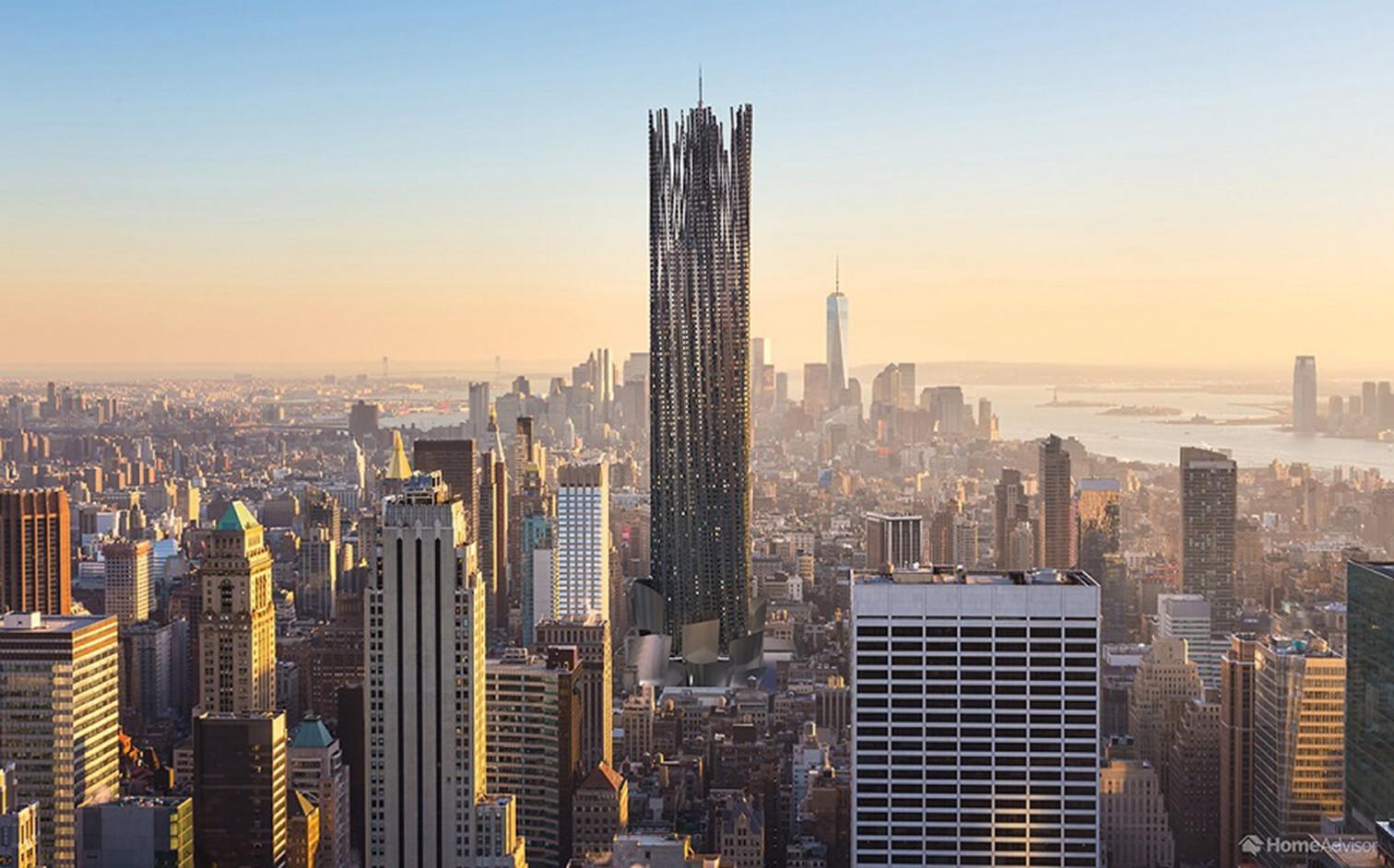 Empire State Building im dekonstruktivistischem Stil