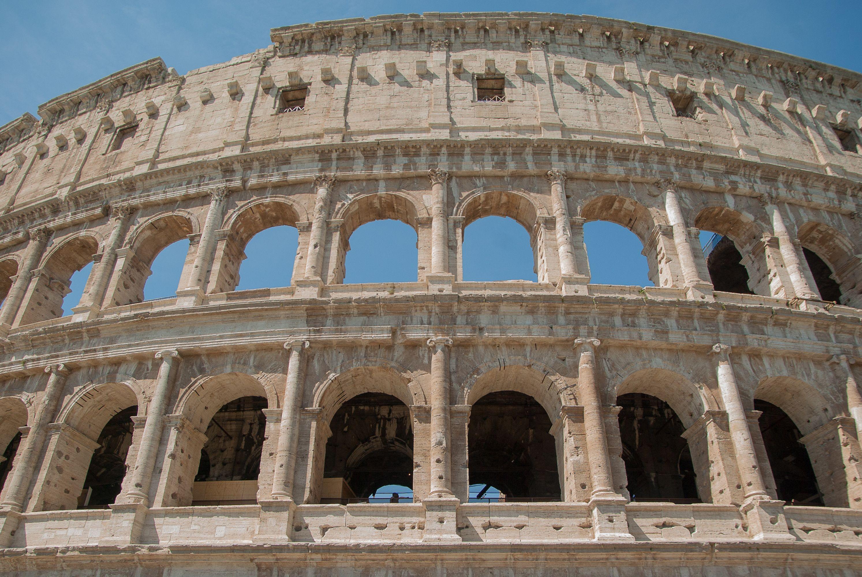 ... oder das Kolosseum in Rom.