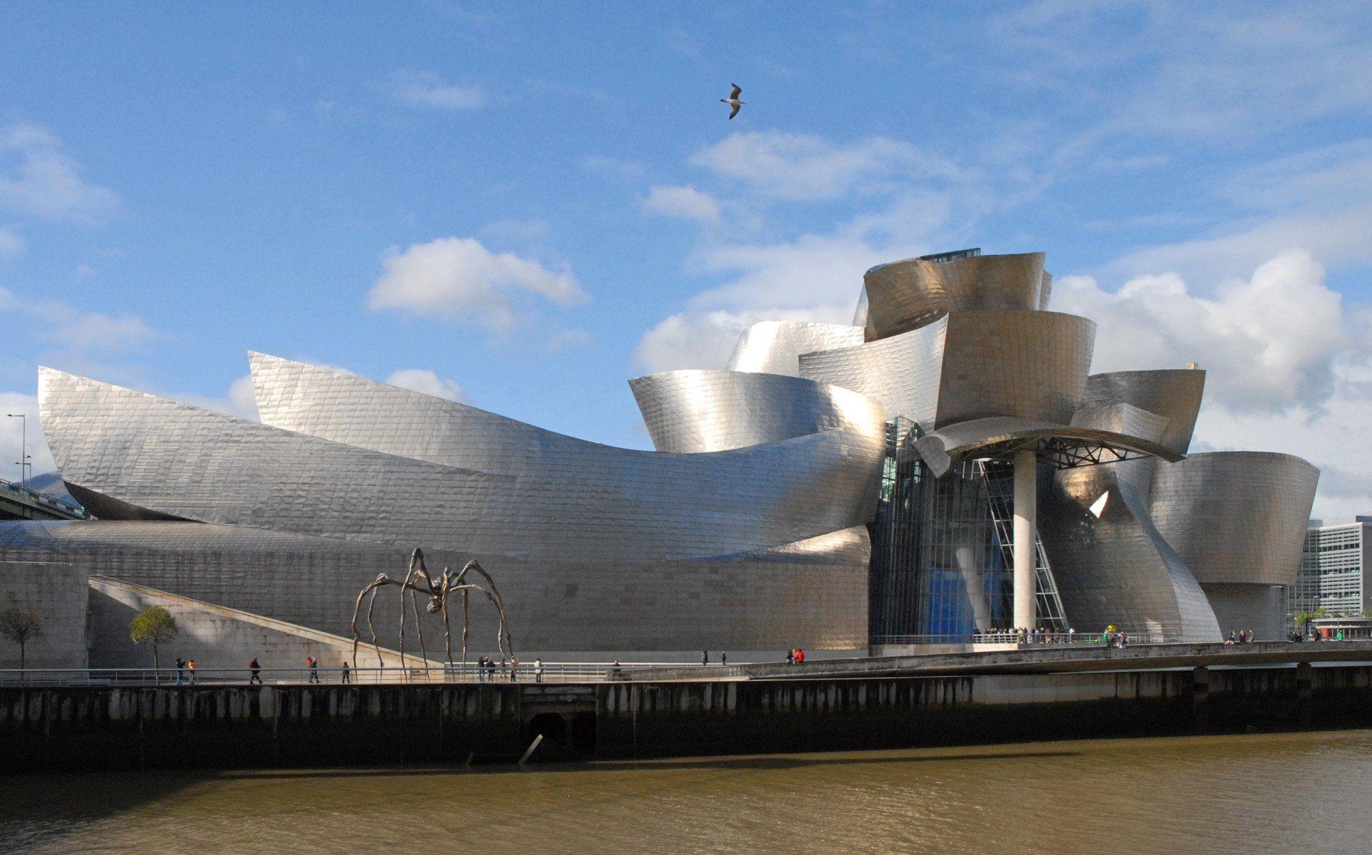 Guggenheim-Museum in Bilbao von Frank Ghery