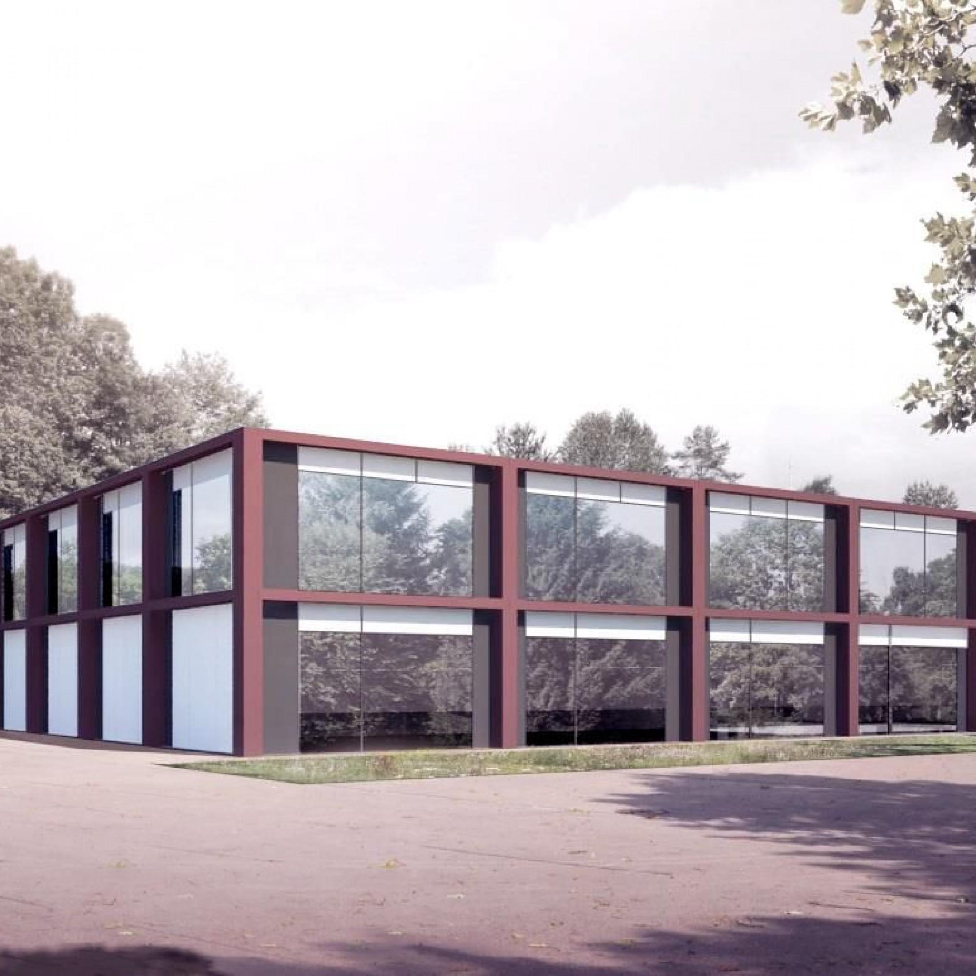 So soll das Ausbildungszentrum Schönau in Cham ZG künftig aussehen.