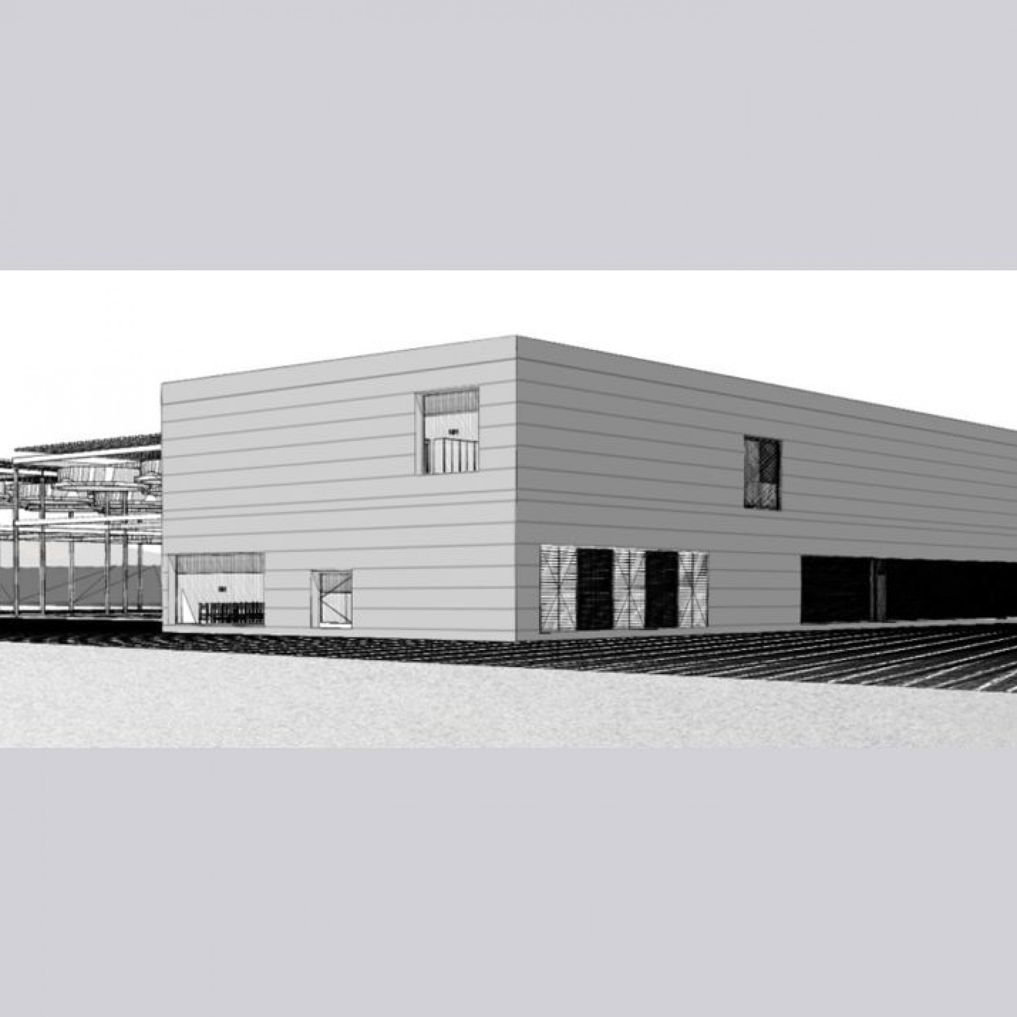 So könnte das projektierte Geothermiekraftwerk in der Gemeinde Haute-Sorne aussehen.