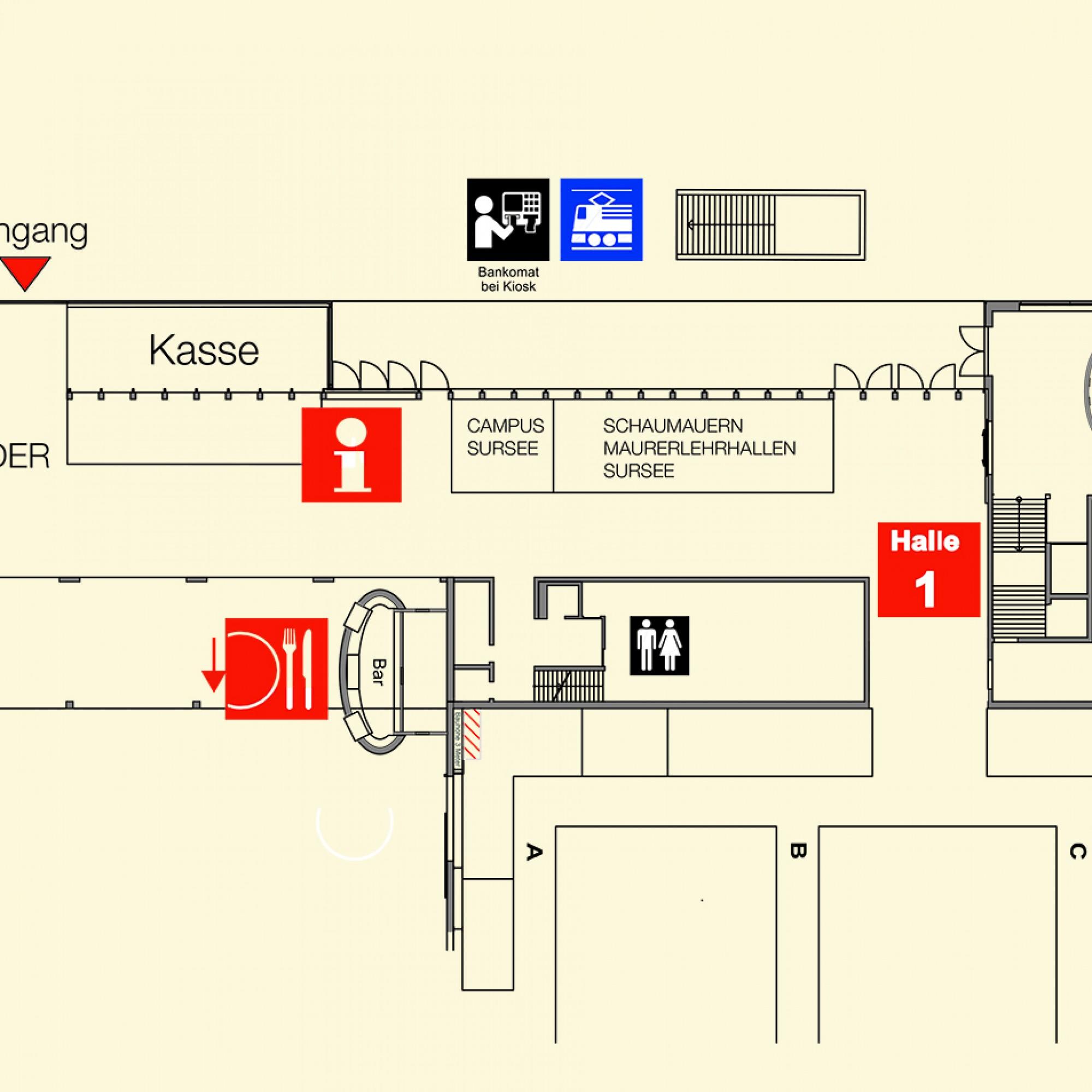 Standort: Halle 1, 2. OG