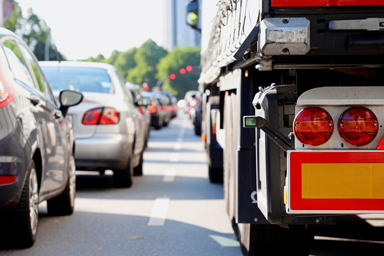 Stau auf Autobahn (Symbolbild)