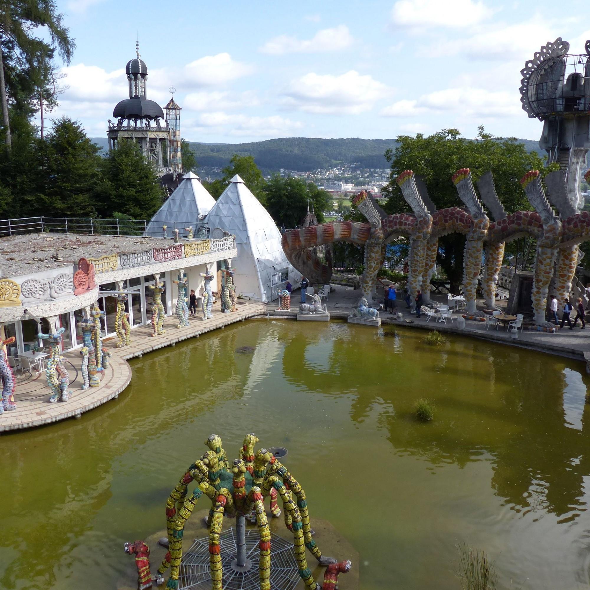 Wassergarten im Skulpturenpark