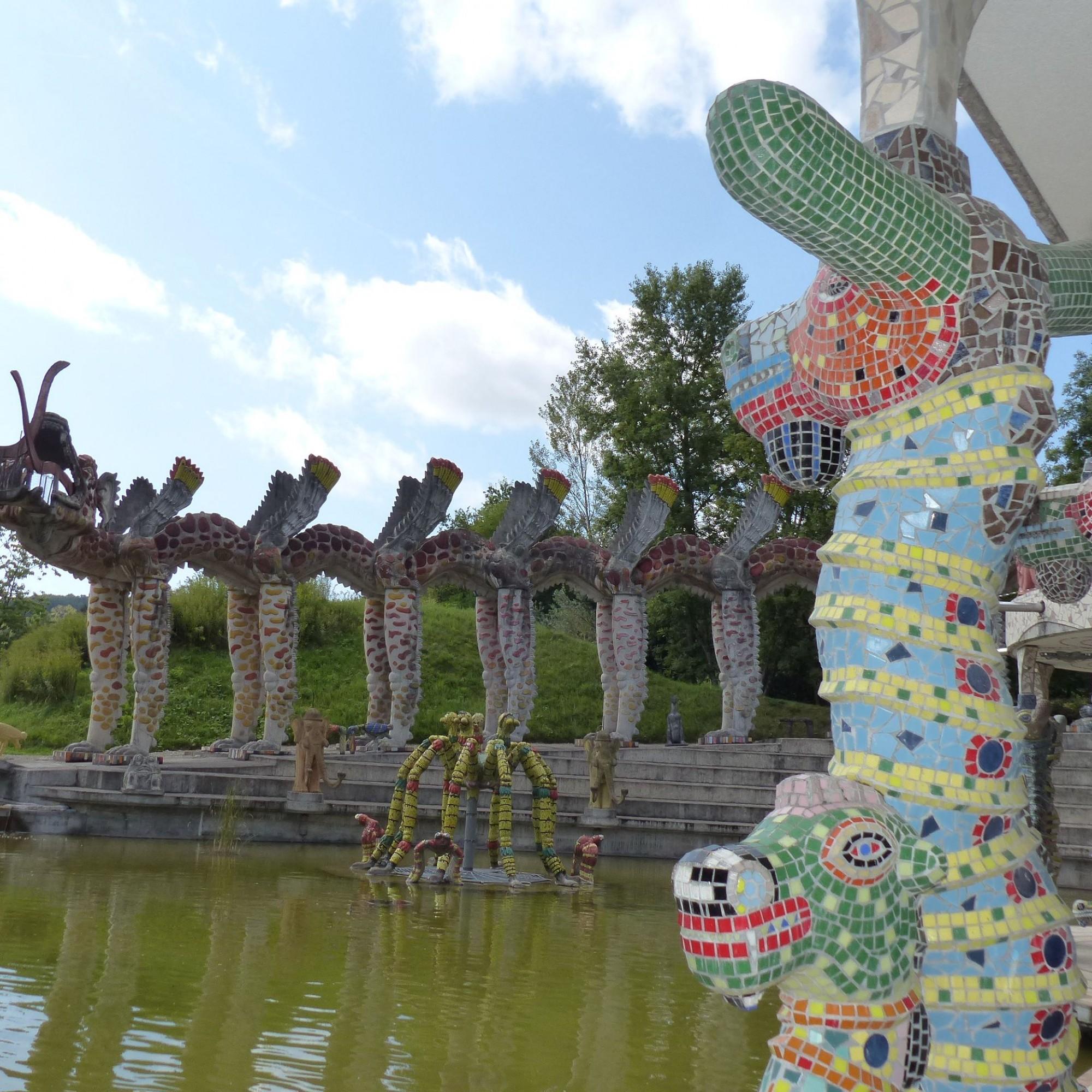 Seepferdchen Wassergarten
