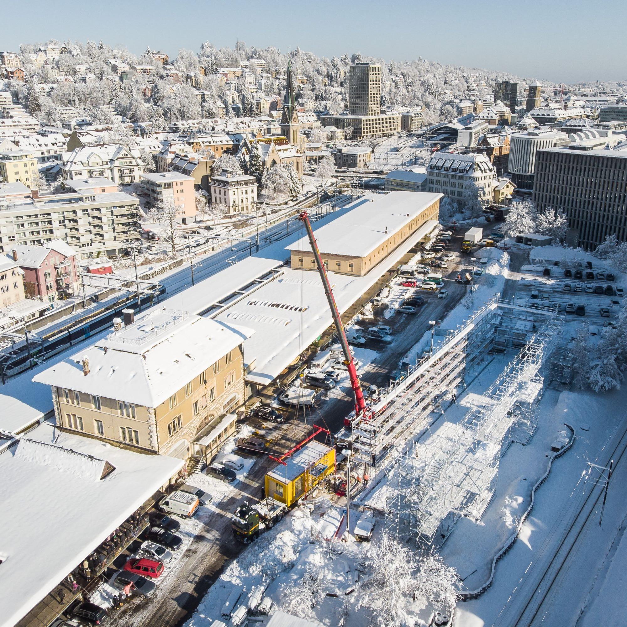 Das Projekt soll für zehn Jahre eines der letzten grösseren Entwicklungsgebiete der Stadt St. Gallen prägen.