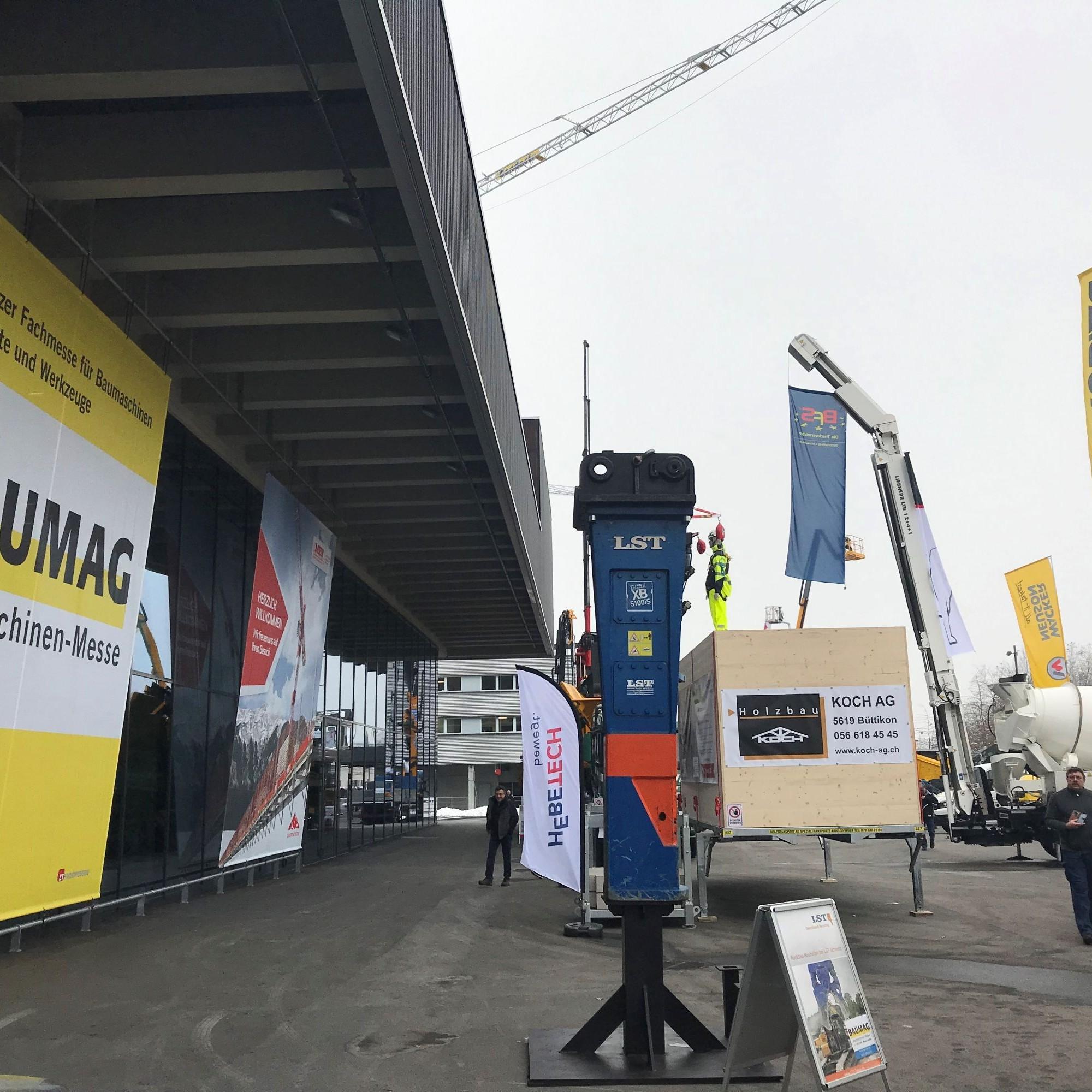 Erste Impressionen der Fachmesse in Luzern.