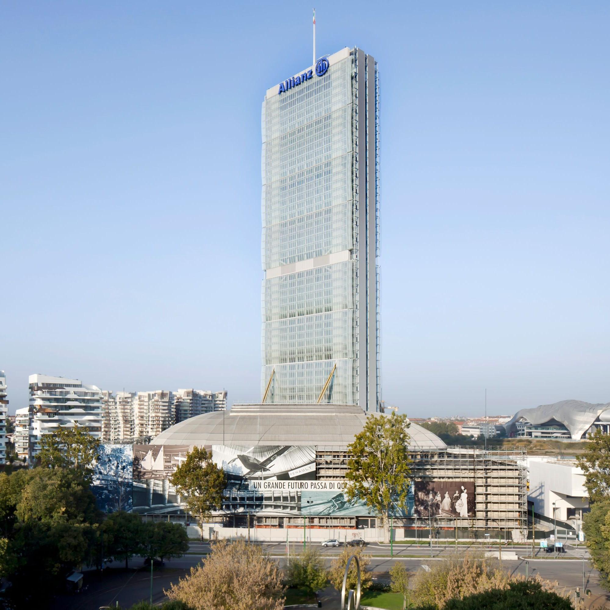 Allianz Tower, Mailand, Italien.
