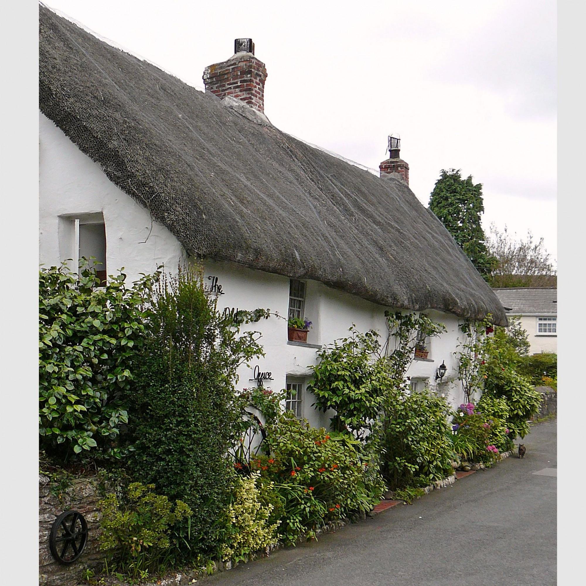 Alte Poststelle von Feock, Cornwall