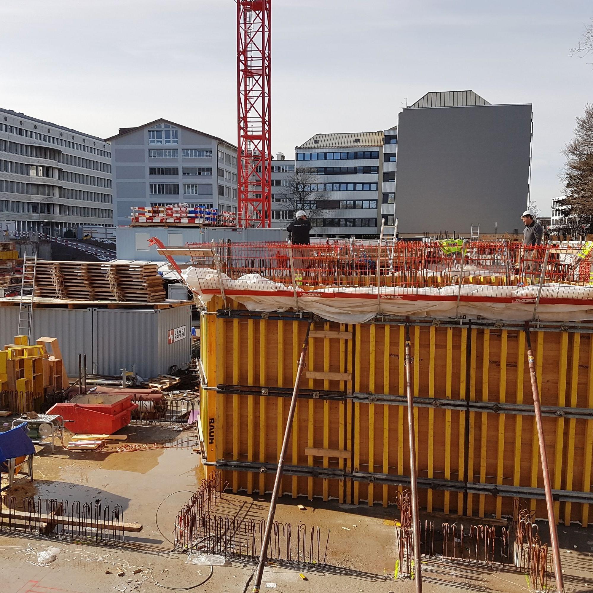 Baustelle Zürich-Seebach
