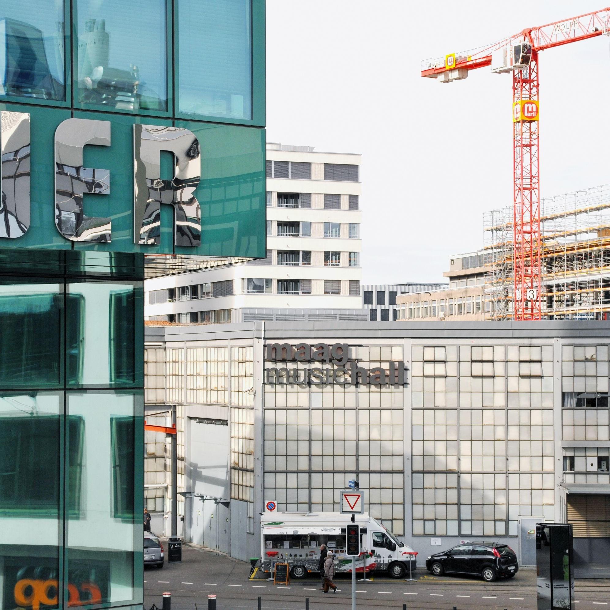 Maagareal Zürich, Symbolbild.