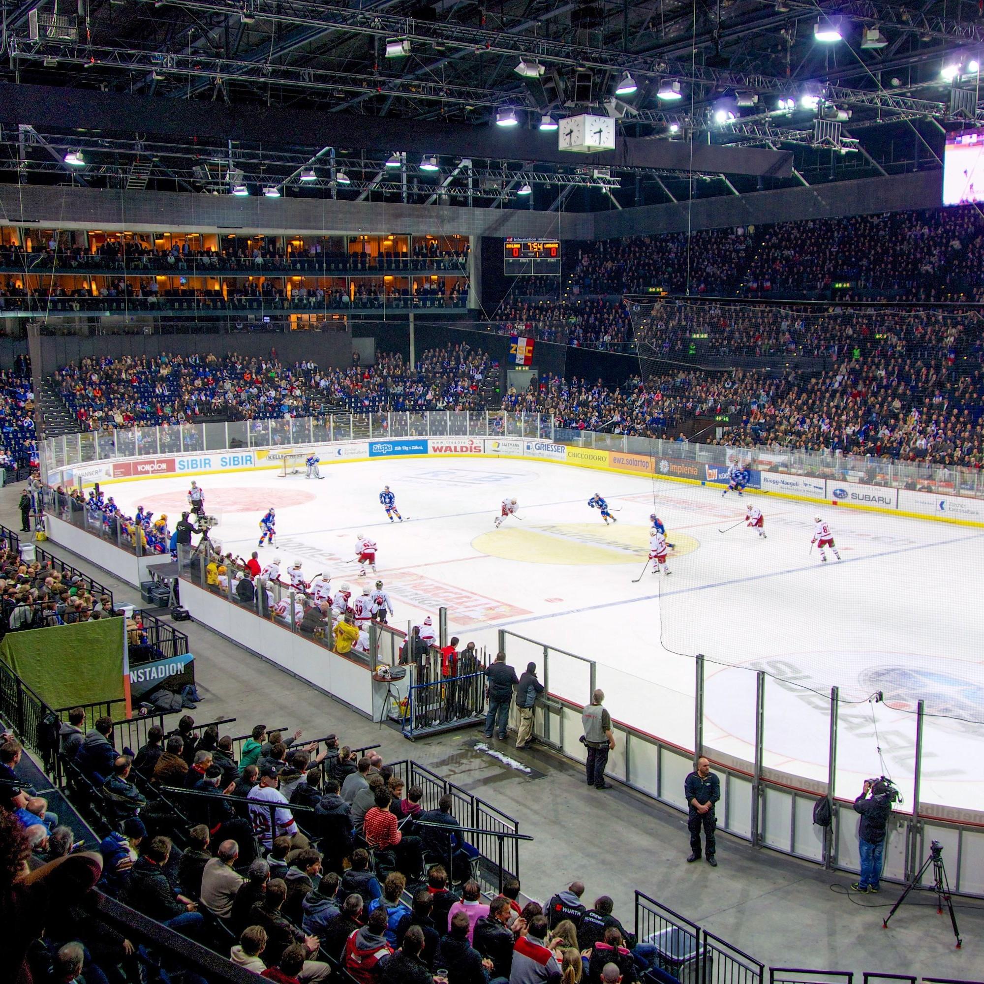 Visualisierung der Swiss Life Arena.