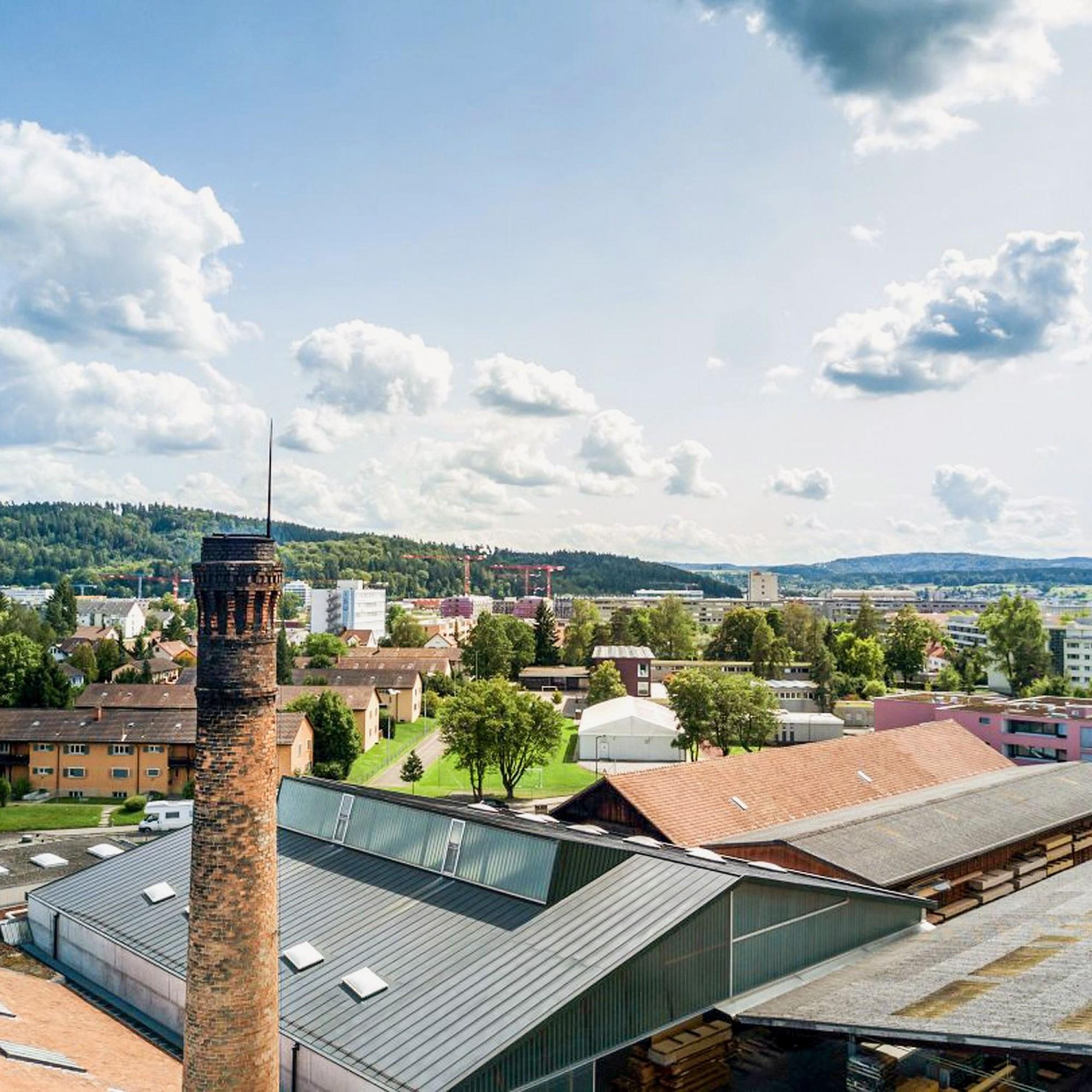 Auf dem Areal eines ehemaligen Hobelwerkes in Winterthur sind fünf Wohnhäuser geplant.