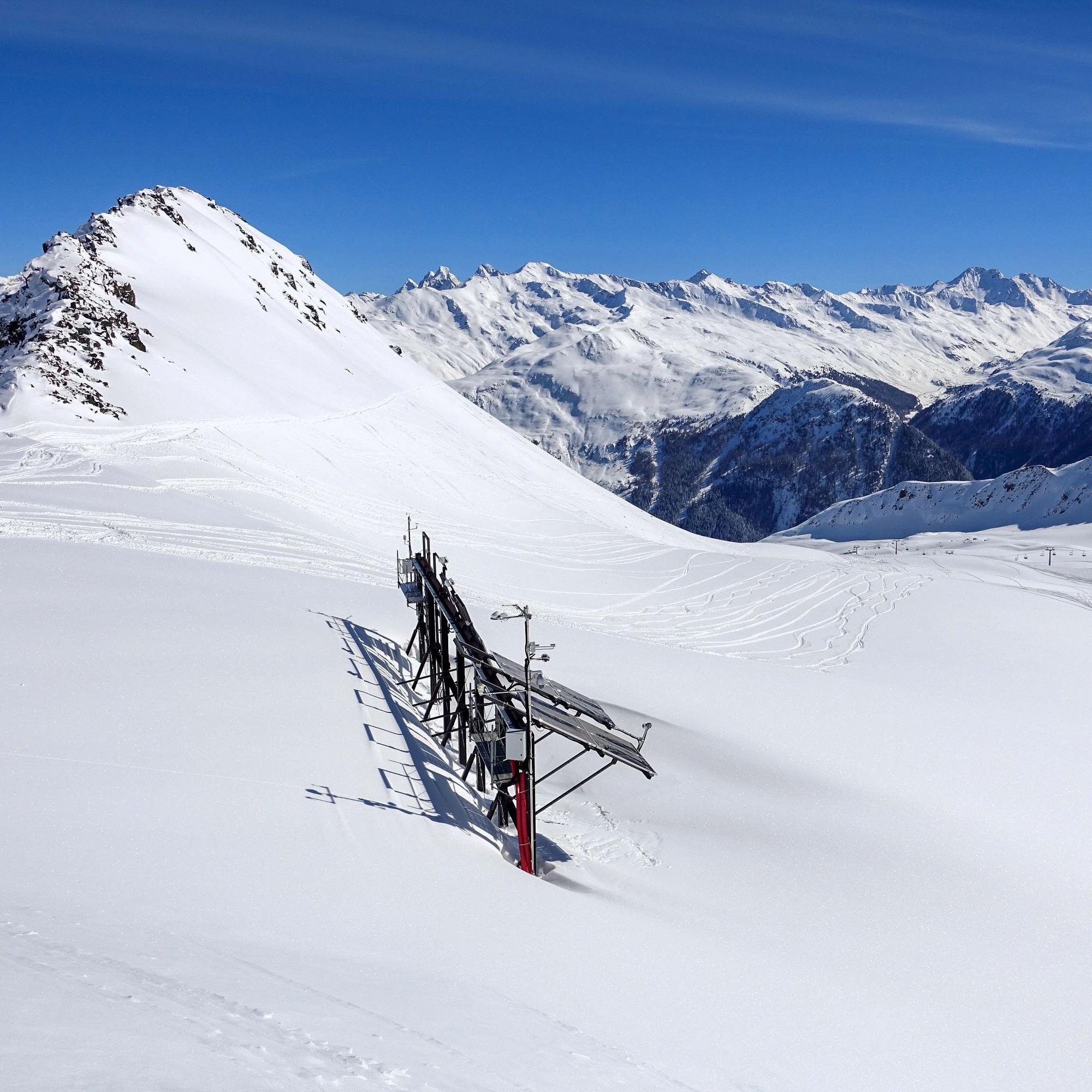 Solartestanlage Totalp Davos