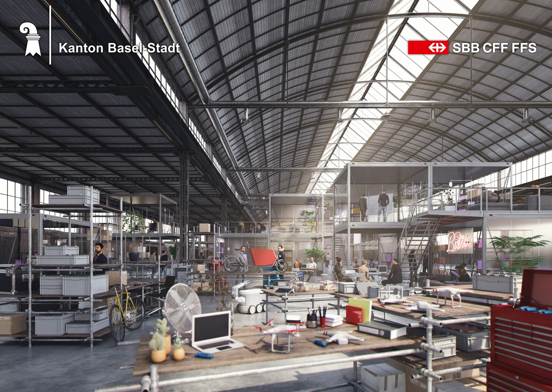 Visualisierung des Smart City Lab Basel