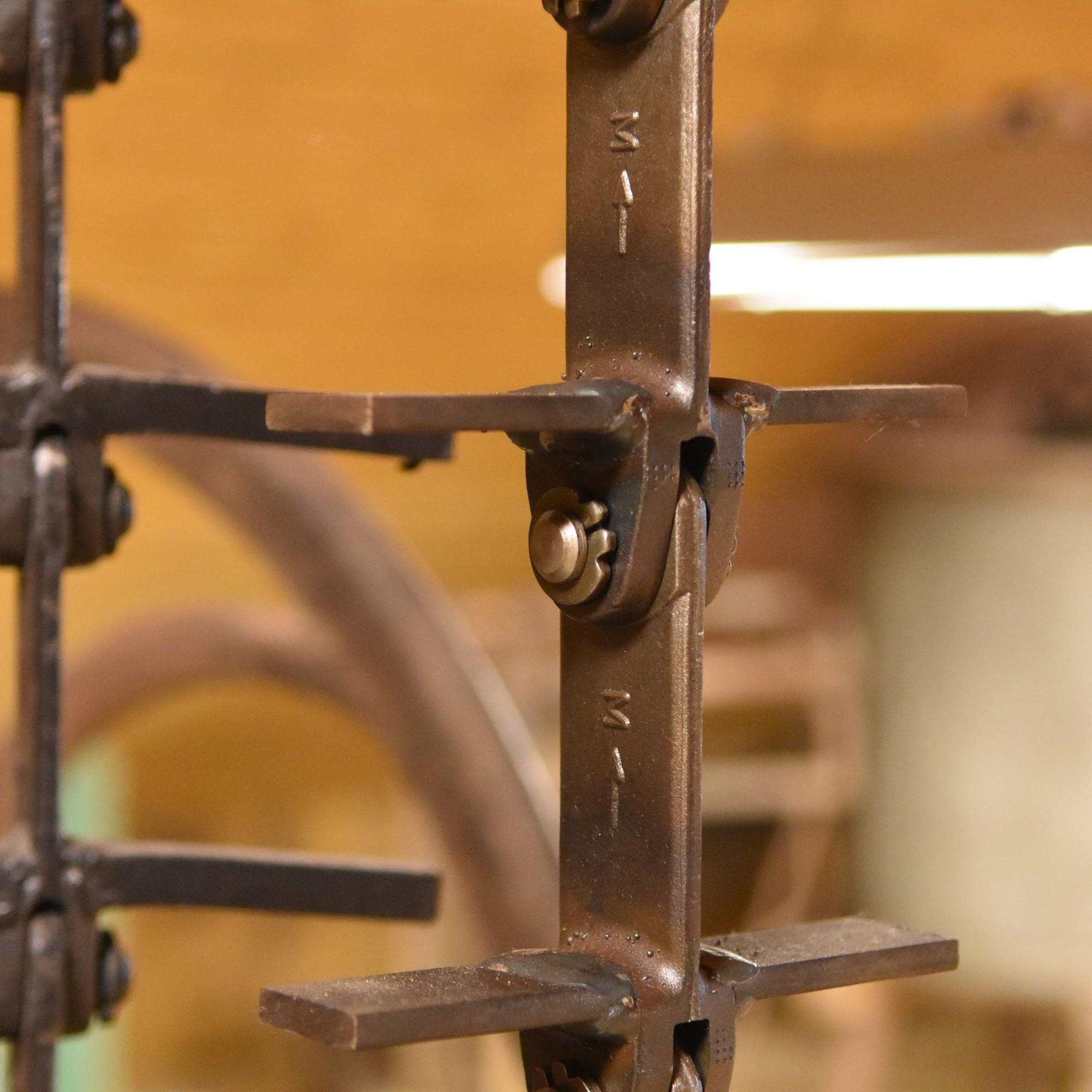 Förderkette: Die Bazenheider Schmiede war Auftragnehmerin der Firma Bühler Uzwil.