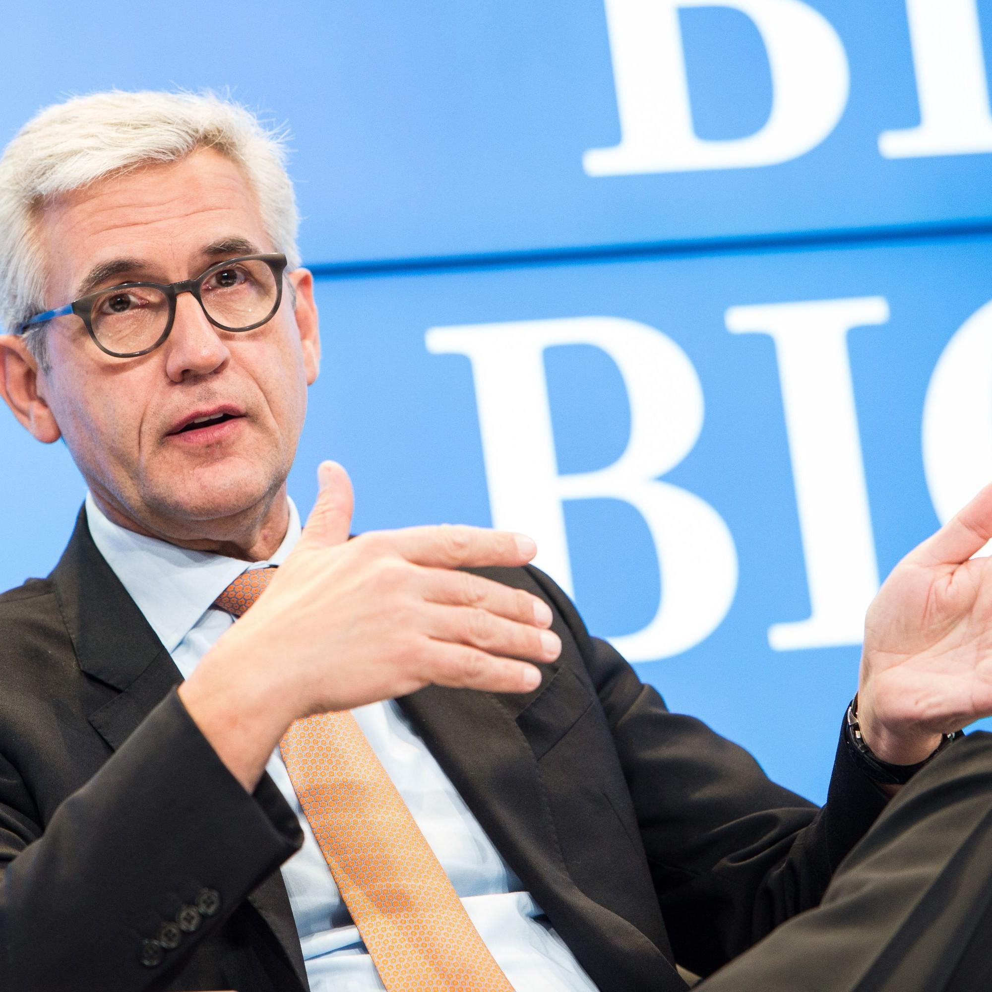 Ulrich Spiesshofer am World Economic Forum von Januar 2018.