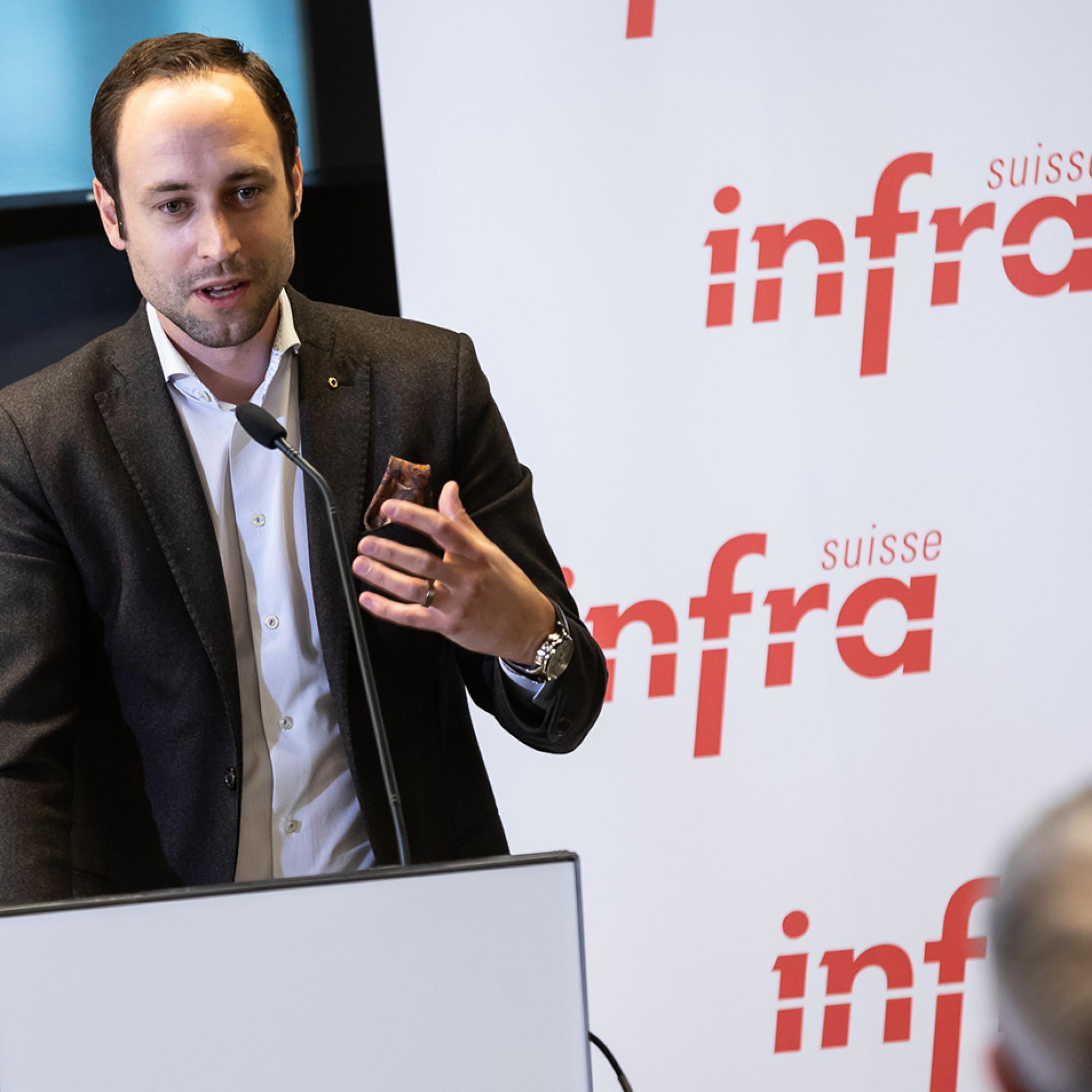 Christian Wasserfallen ist neu Präsident von Infra Suisse.