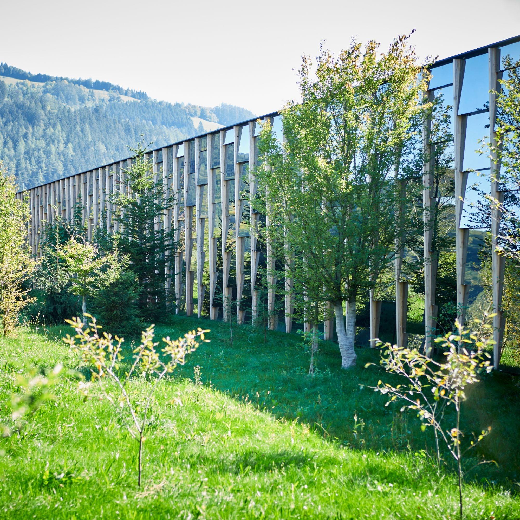 Der Neubau der Firma «Grüne Erde» in Österreich wird überwiegend natürlich gelüftet.
