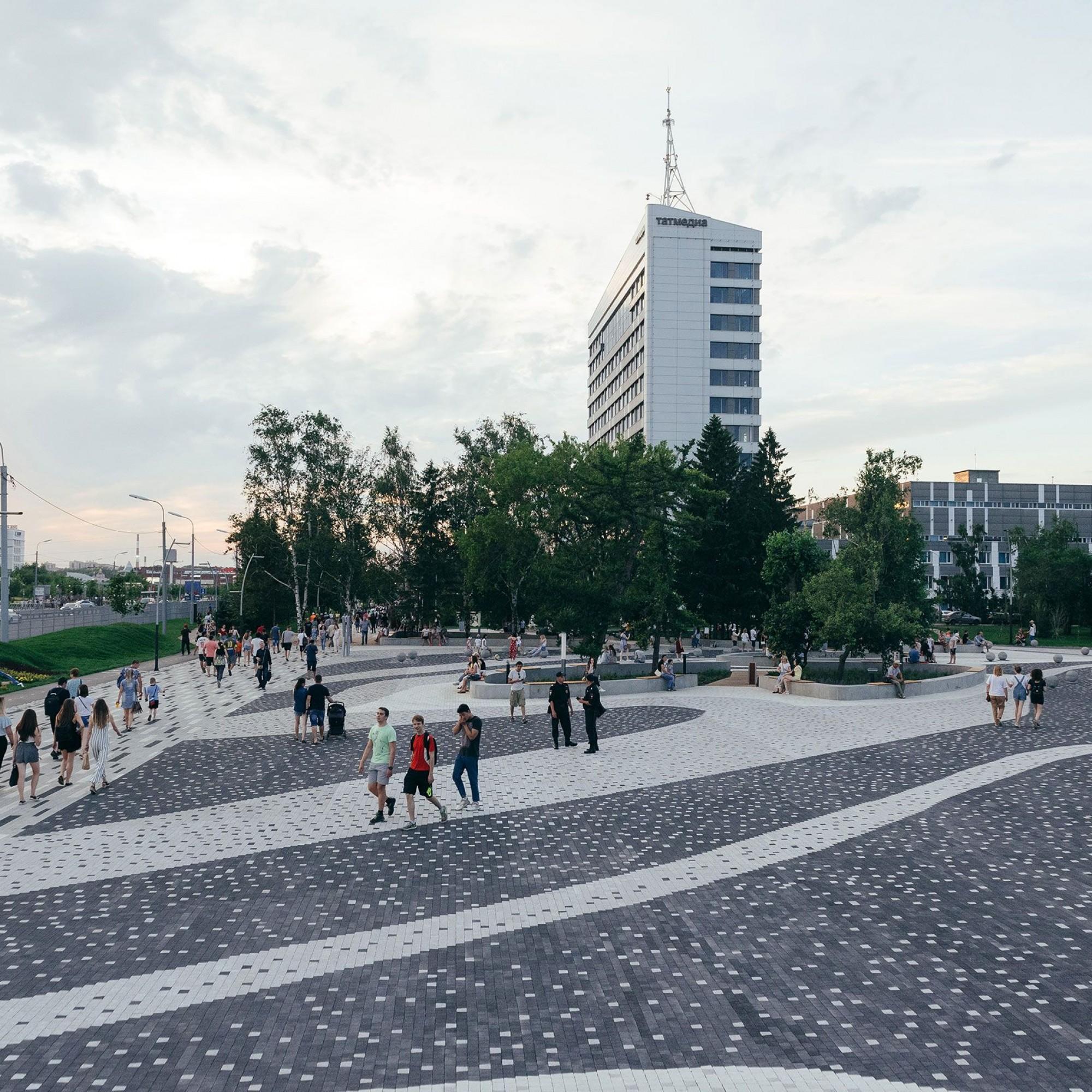 Festival Boulevard in Kasan.