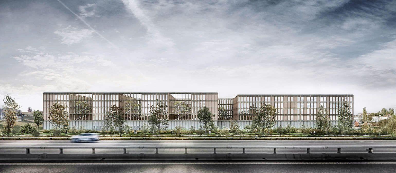 Visualisierung neues Polizeizentrum Bern