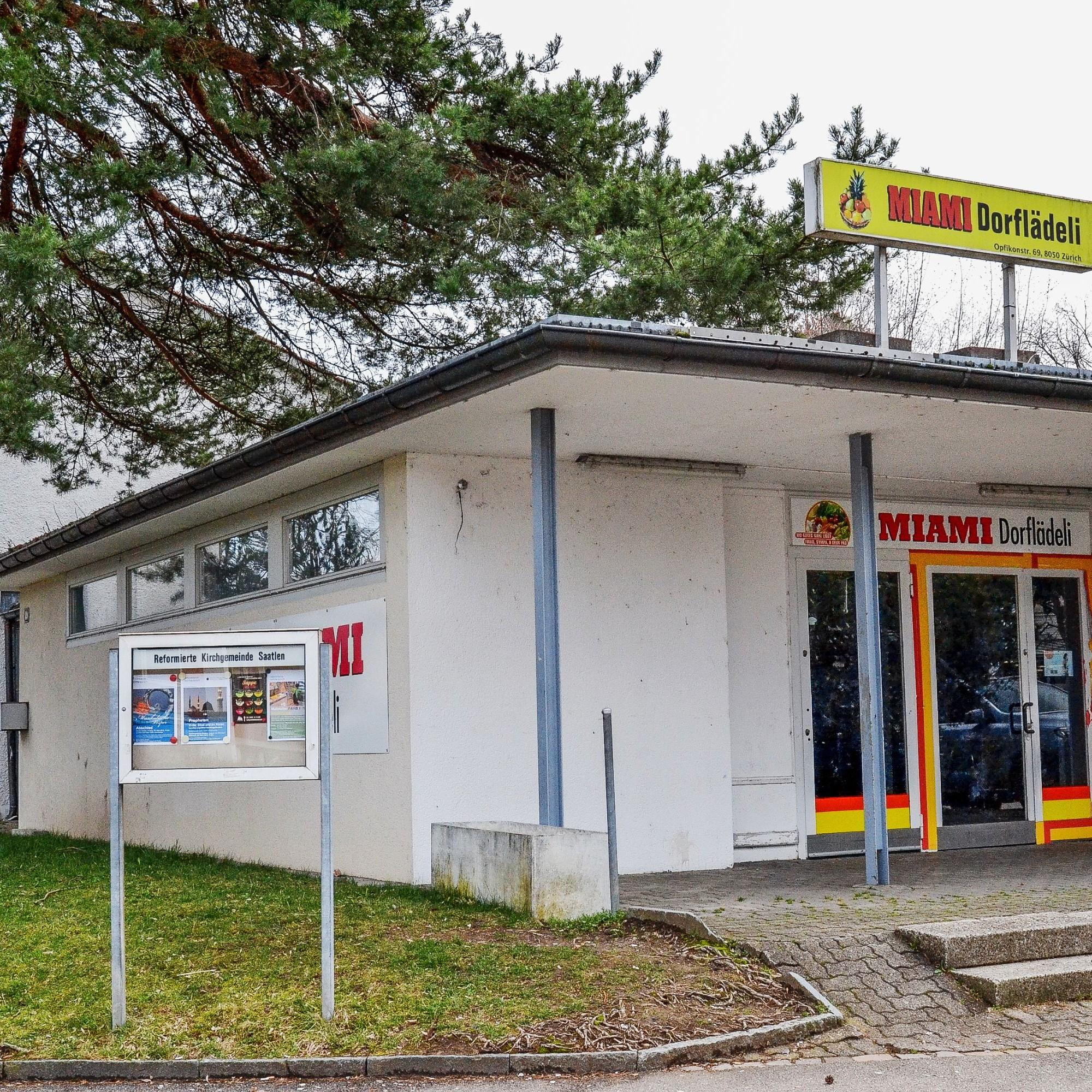 Zürich-Nord: Geschlossenes Dorflädeli im Schwamendinger Quartier Saatlen