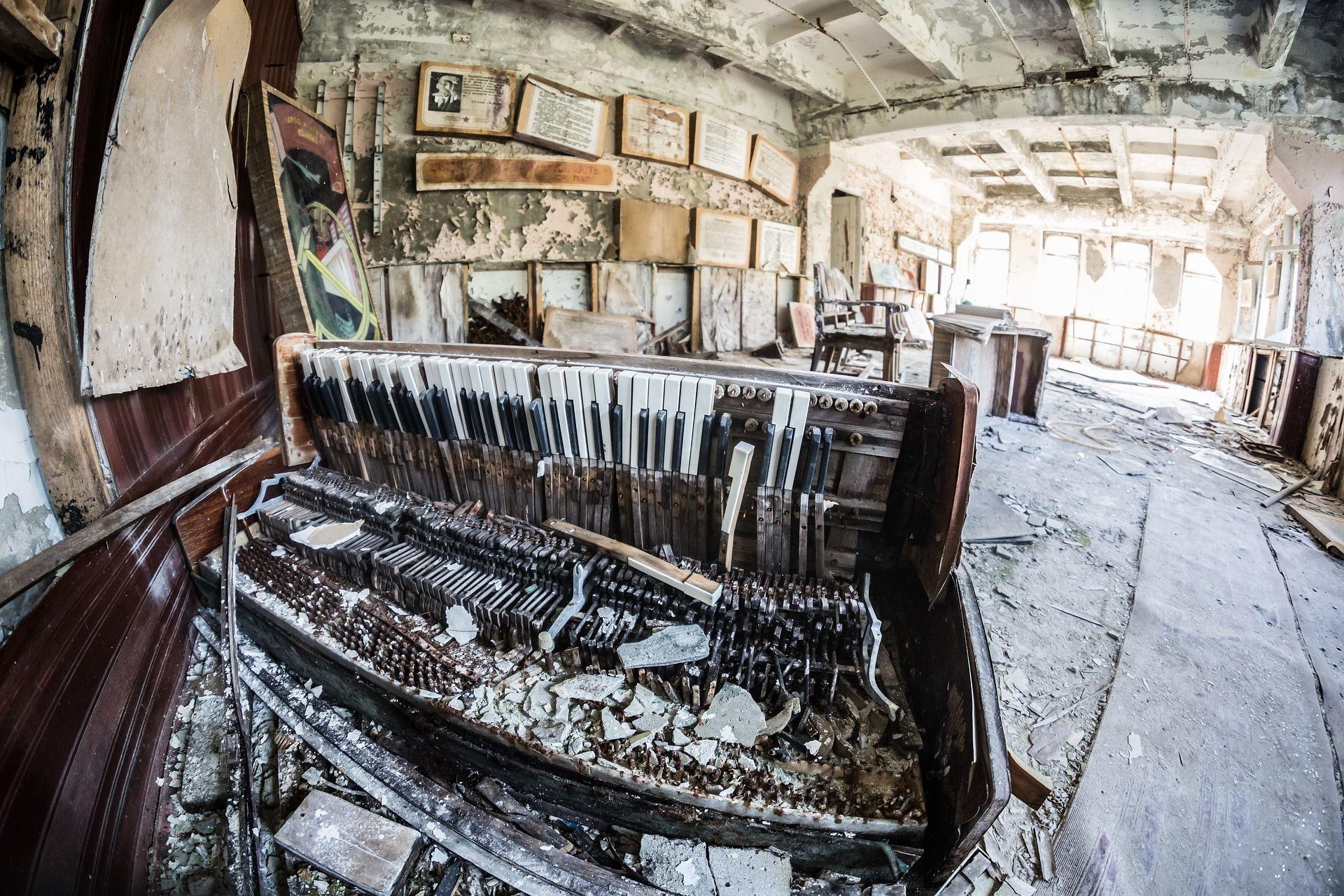 Viele der Räume der zahlreichen Gebäude im Ort sind noch im Originalzustand. Die Bewohner wussten nicht, dass sie nie zurückkehren würden.