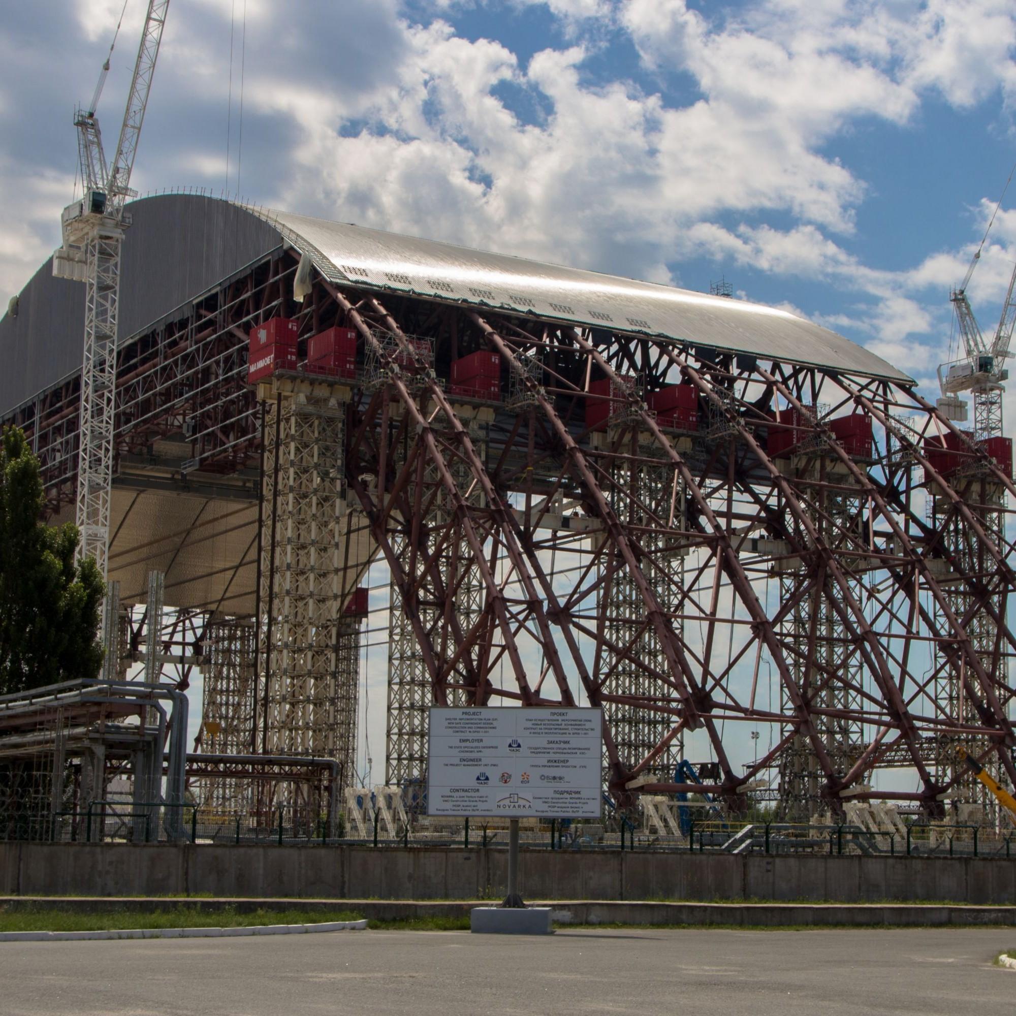 2000 wurde das Atomkraftwerk abgeschaltet.Trotz der Katastrophe 1986 und der enormen Strahlenbelastung, arbeiteten bis dahin noch bis zu 9000 Menschen dort.