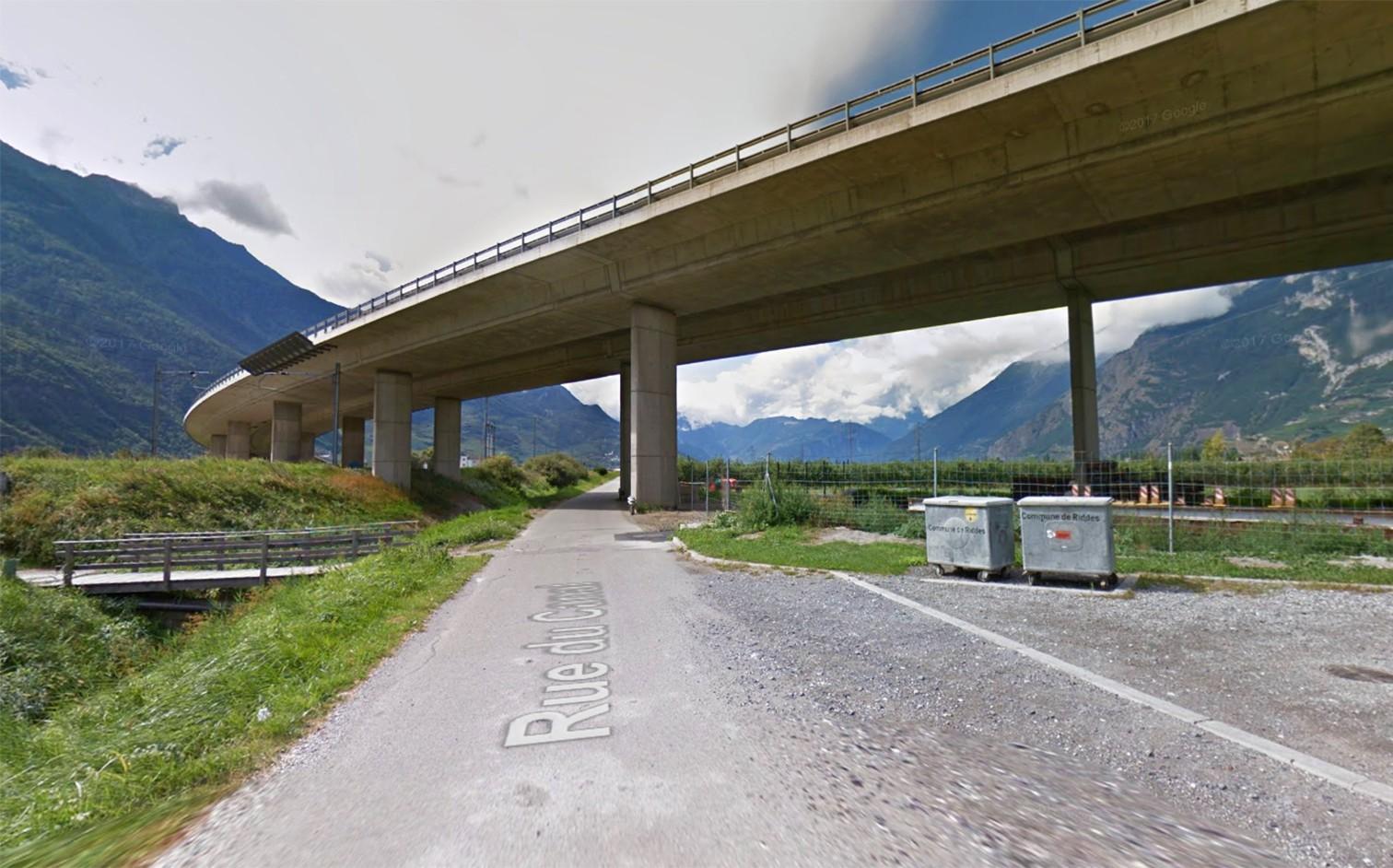 Viadukt bei Riddes VS.