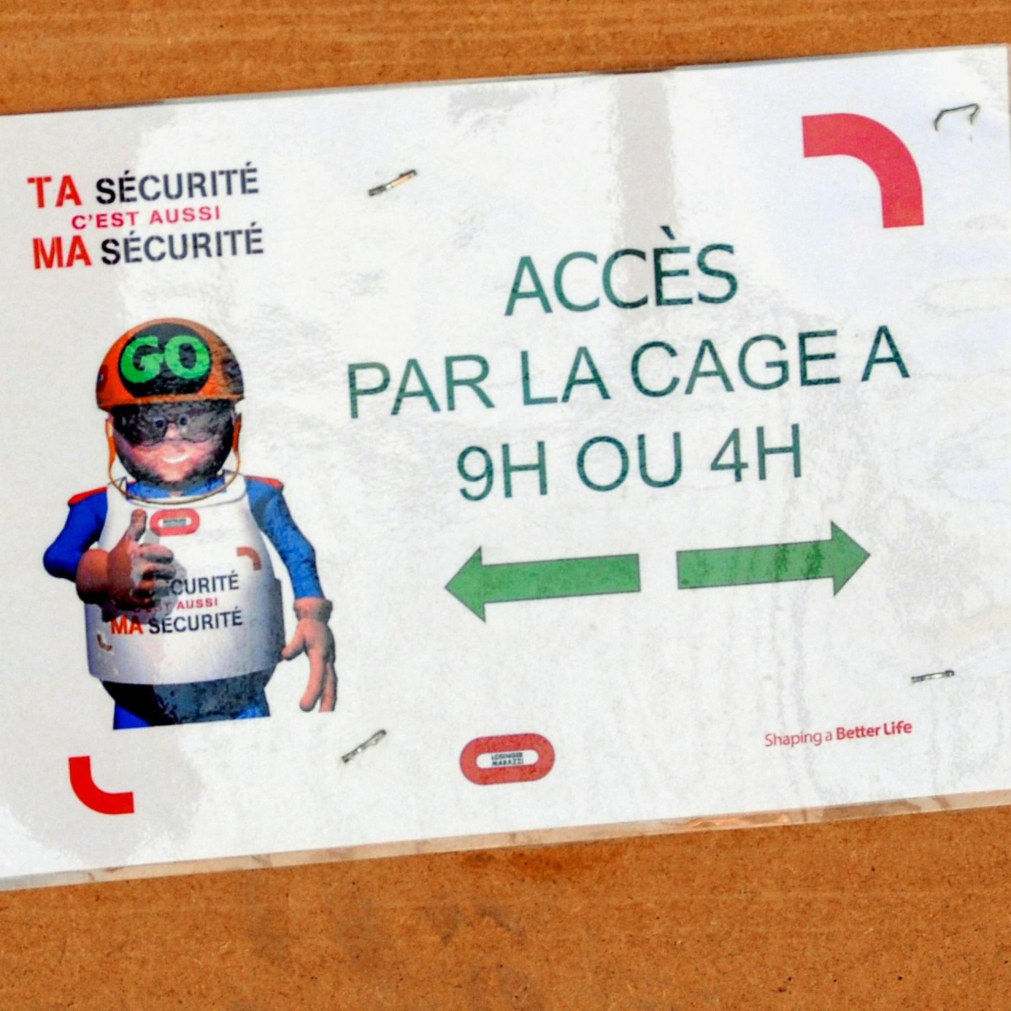 Zugang bei 4 und 9 Uhr: Man griff zur ungewöhnlichen Analogie des Zifferblatts, um die einzelnen Gebäudeteile zu verorten.