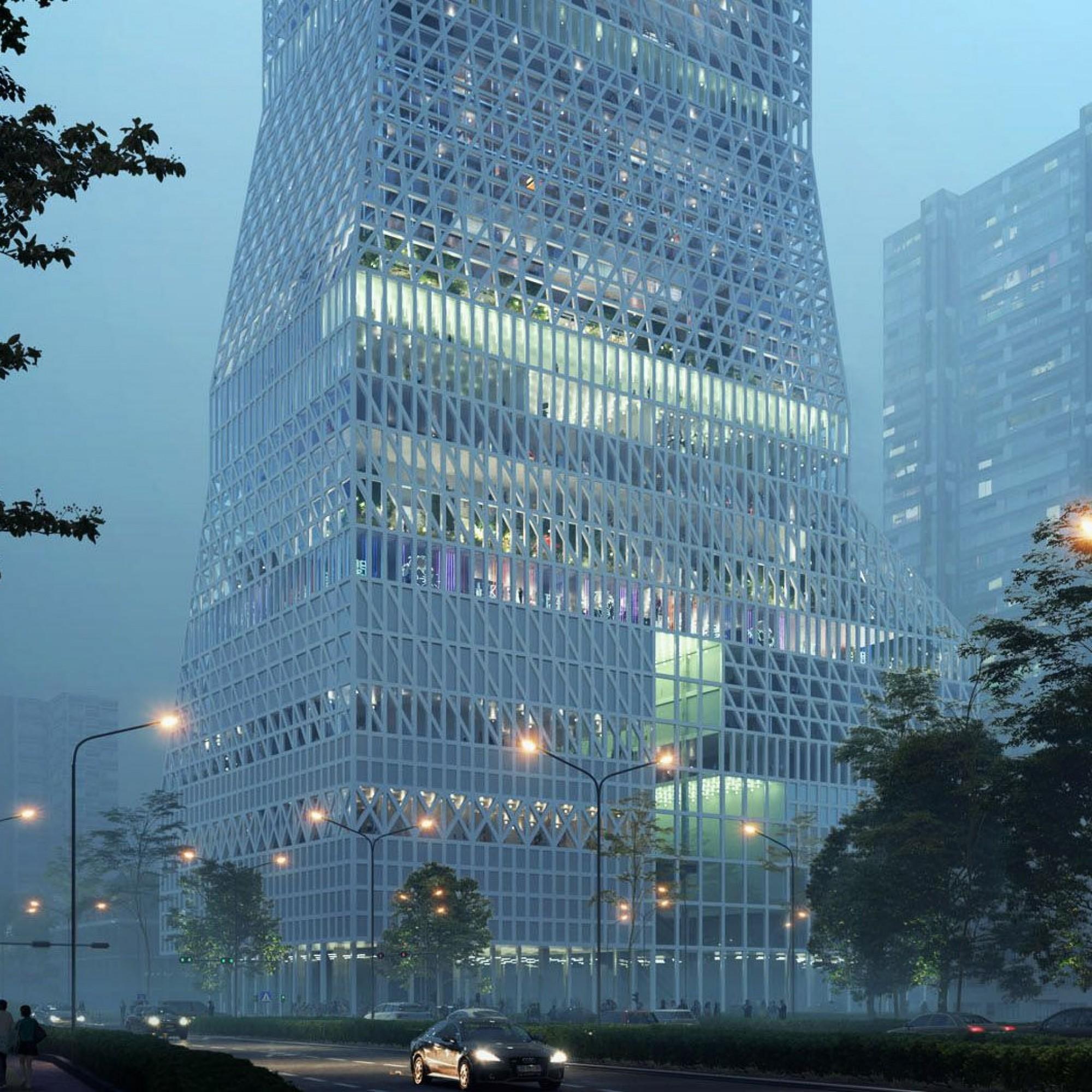 Das niederländische Architekturbüro Mecanoo hat den Wettbewerb zum neuen Kulturzentrum in Futian gewonnen.
