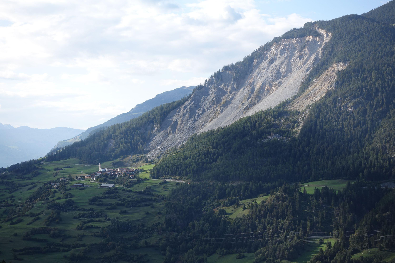 Das Dorf Brienz/Brinzauls in der Gemeinde Albula/Alvra (GR)