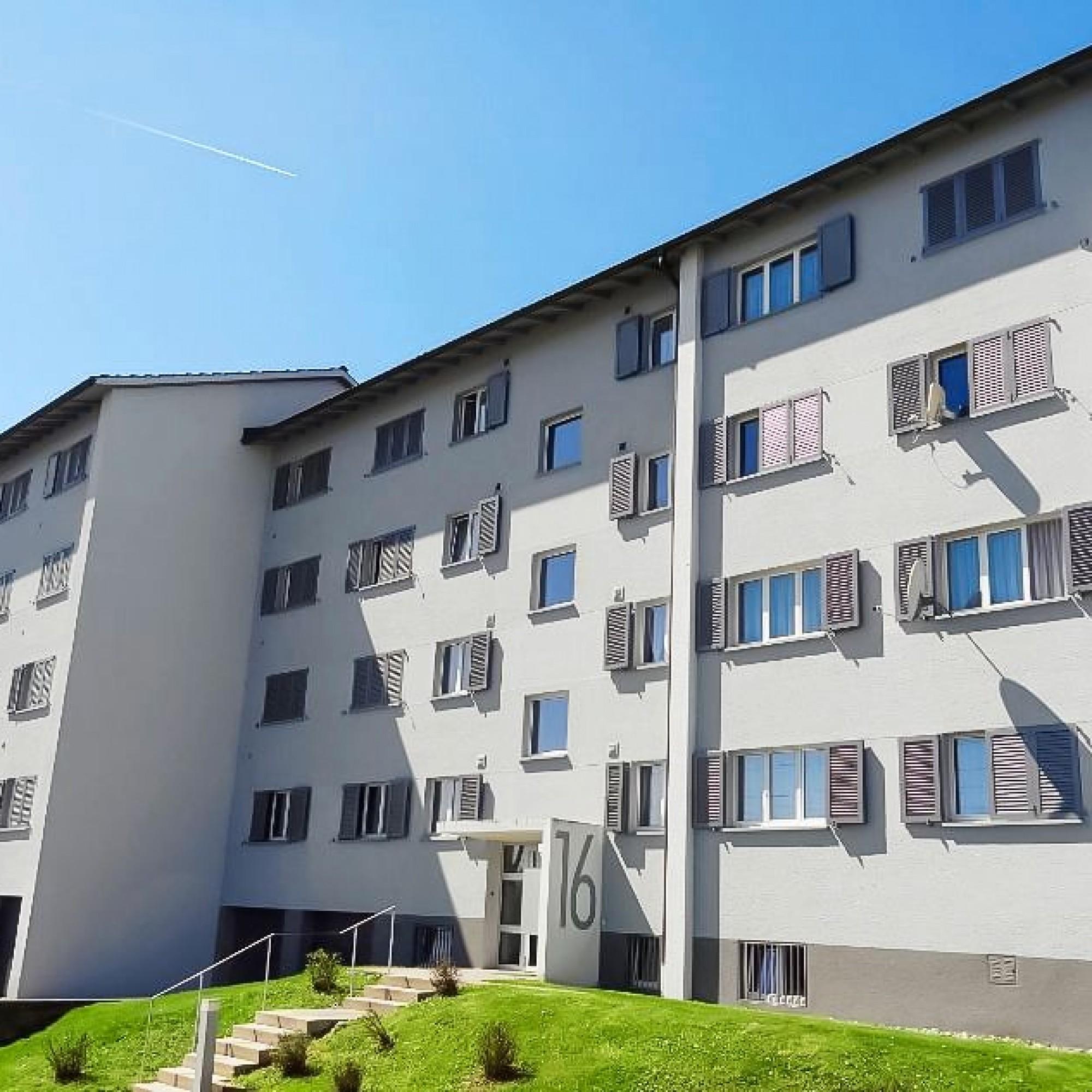 Gebäude aus dem Immobilien-Portefeuille der Credit Suisse, das in die energetische Betriebsoptimierung einbezogen wurde.