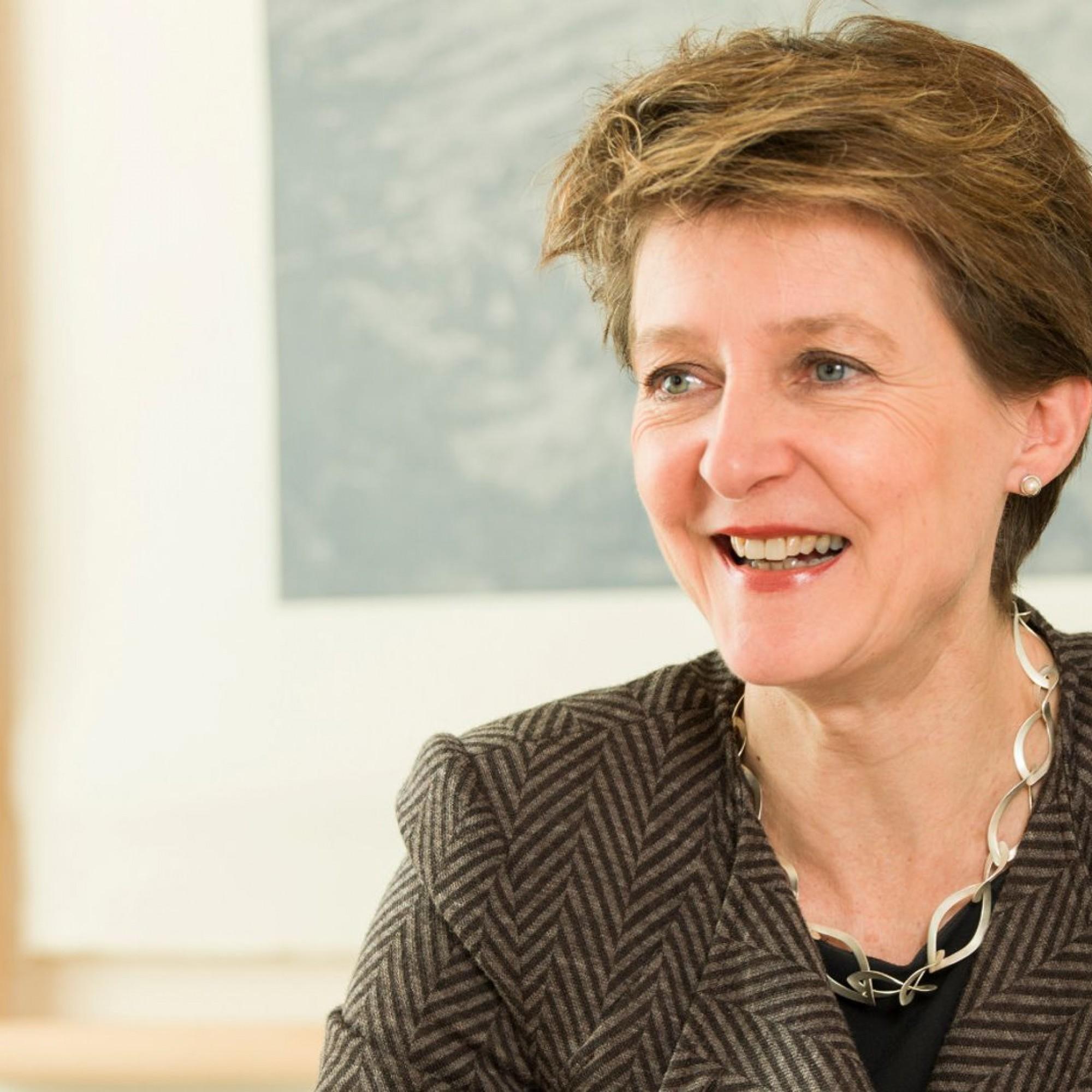 Bundesrätin Simonetta Sommaruga, Umweltministerin