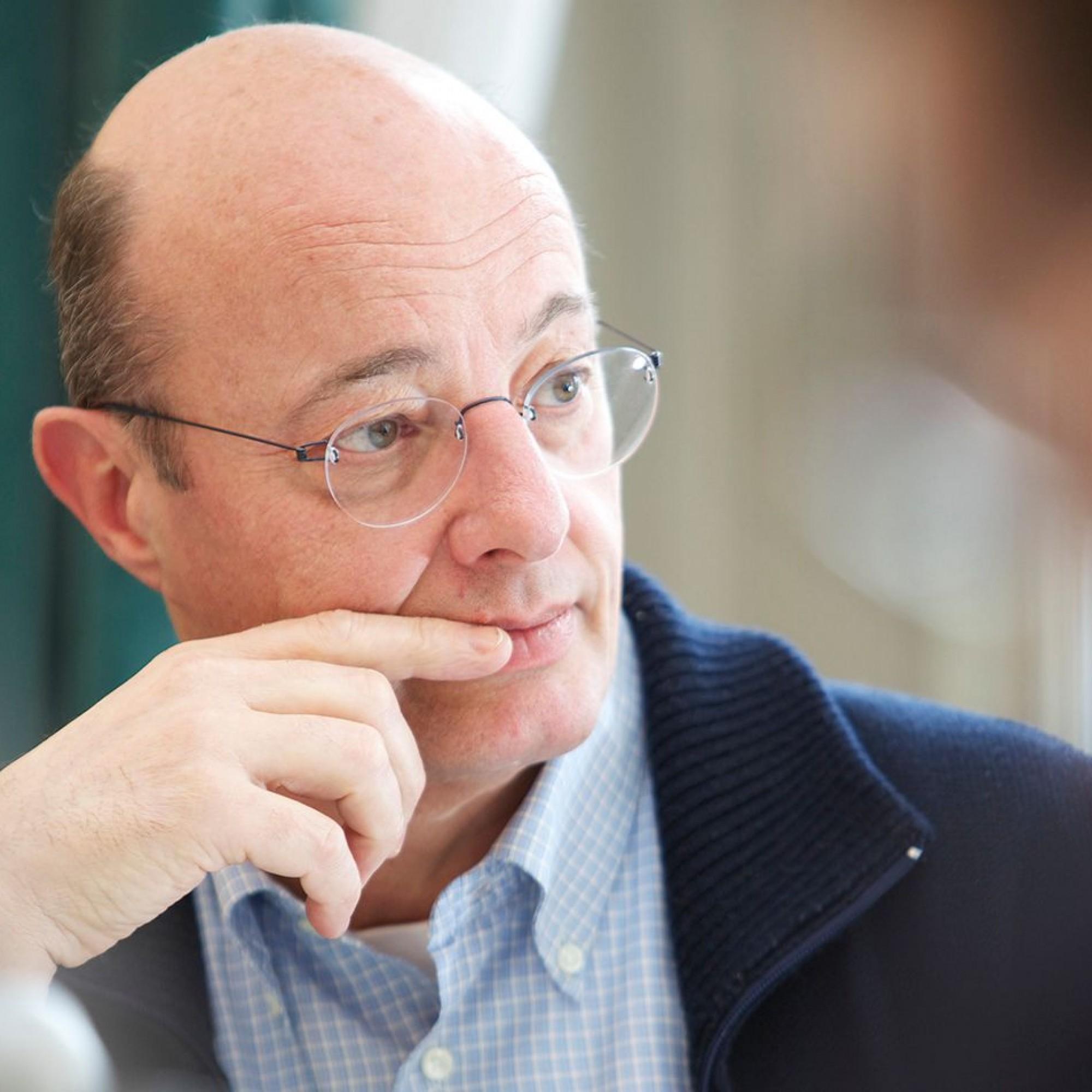 Verbandspräsident Louis Schelbert.