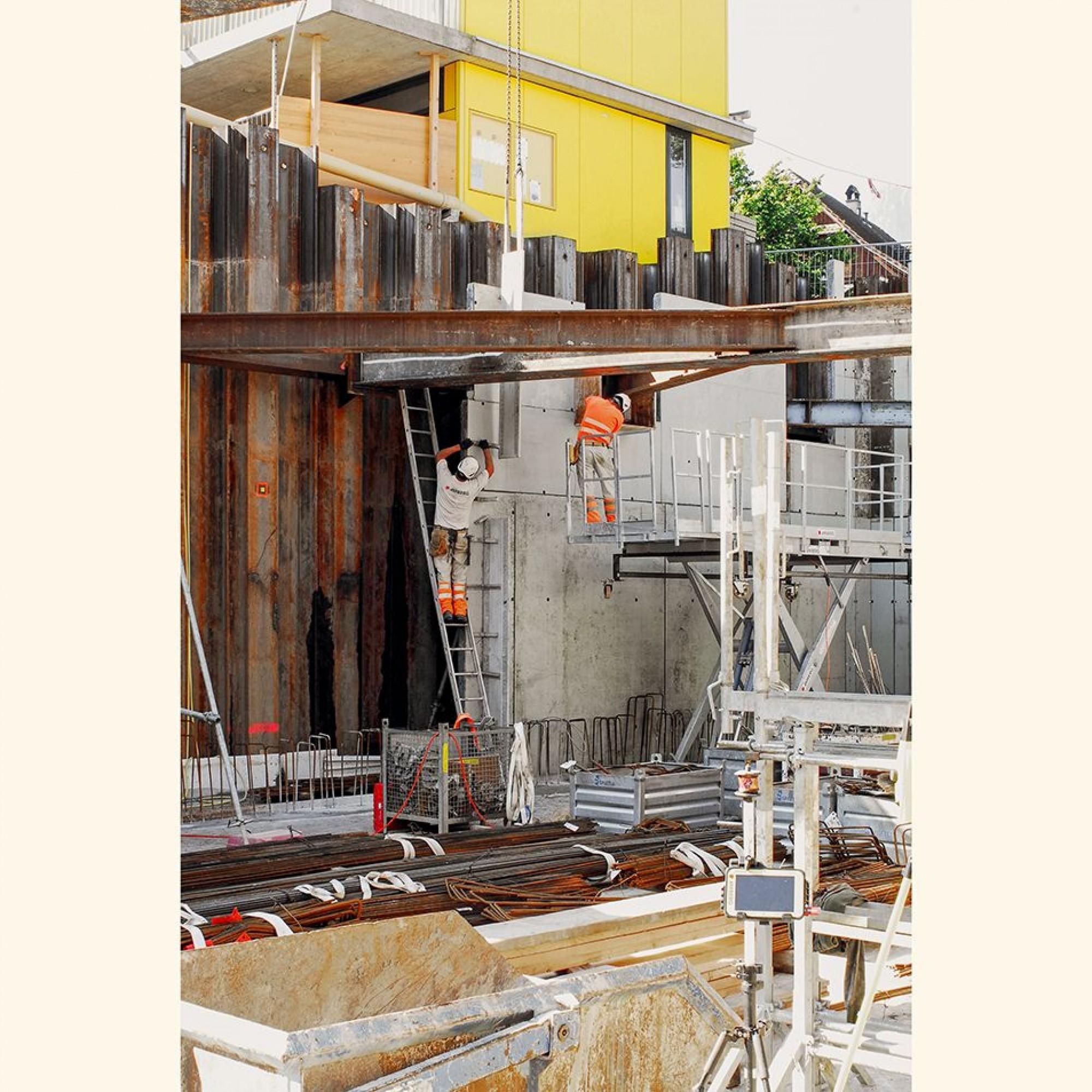 Die Arbeiten in Horw schreiten zügig voran. Bereits nächstes Jahr soll die Energiezentrale ans Netz gehen.