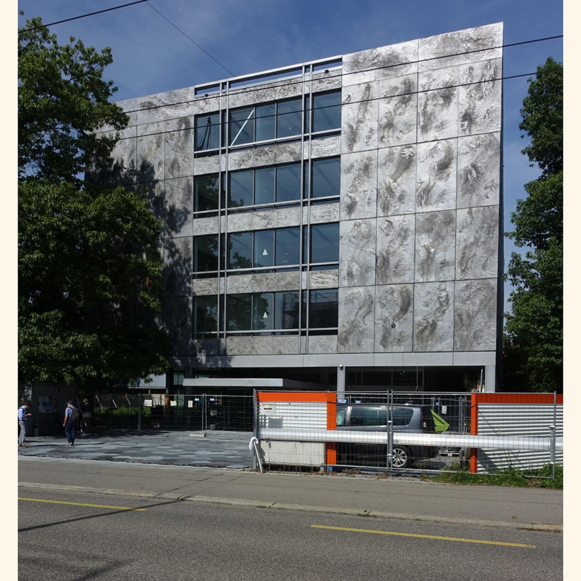 Das besuchte Axa-Bürogebäude in Winterthur stammt aus den frühen 1960er-Jahren. Es ist seit 2013 im Inventar schützenswerter Bauten und wird sanft renoviert.