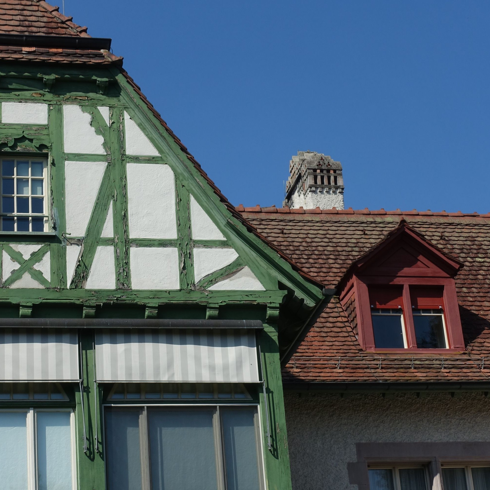 Der Sanierungsbedarf ist beim Fachwerk der Villa Langmatt nicht zu übersehen. Allerdings muss auch die Finanzierung sicher sein.