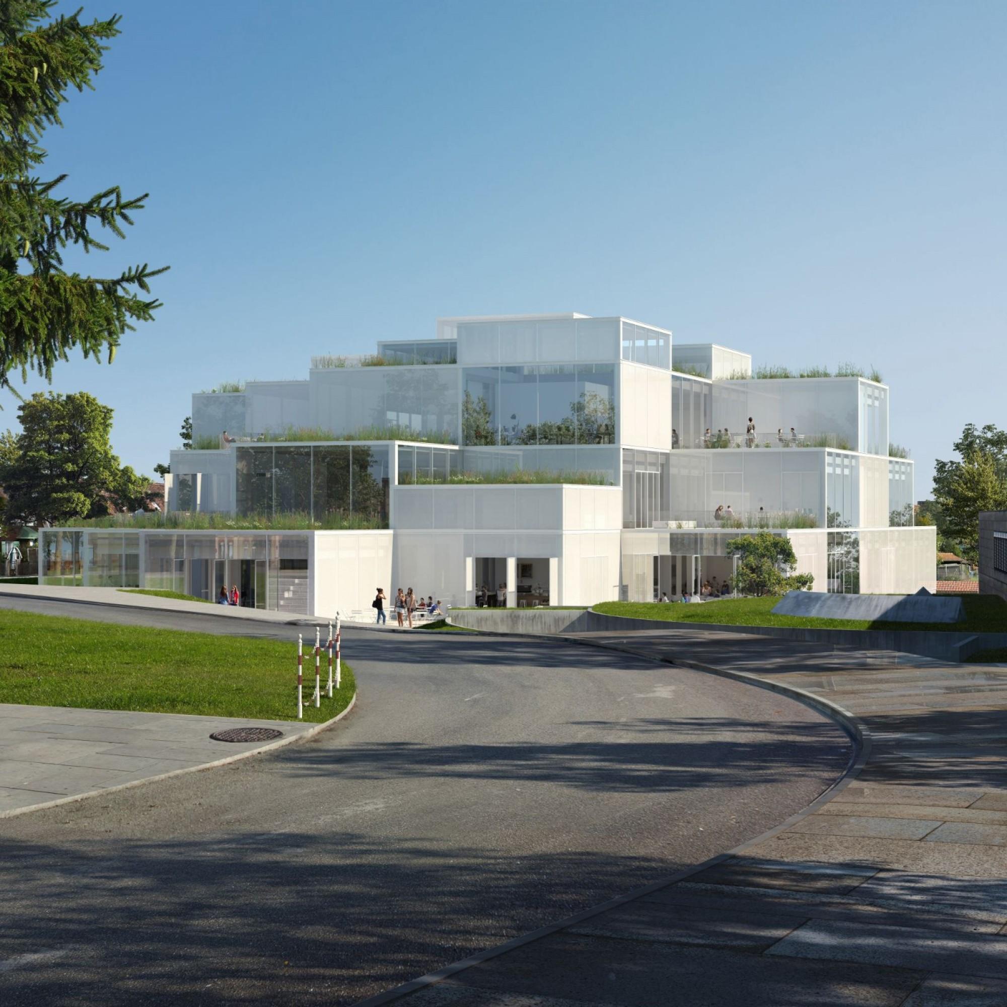Der öffentliche Hochbau bleibt für das Ostschweizer Baugewerbe eine Stütze: Diesen November starten die Arbeiten für das 60 Millionen Franken teure Learning-Center der Hochschule St. Gallen.