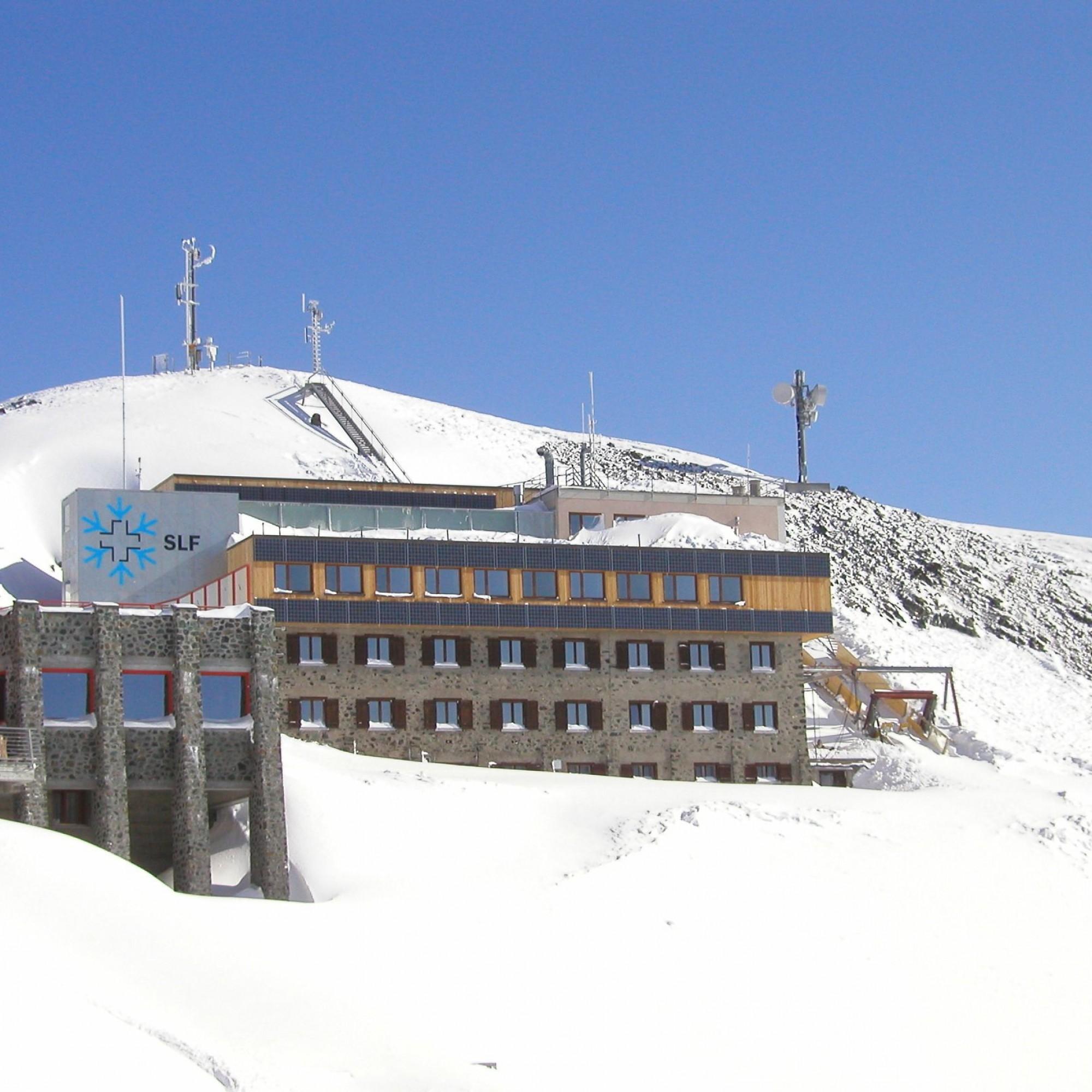Institutsgebäude SLF, Weissfluhjoch Davos
