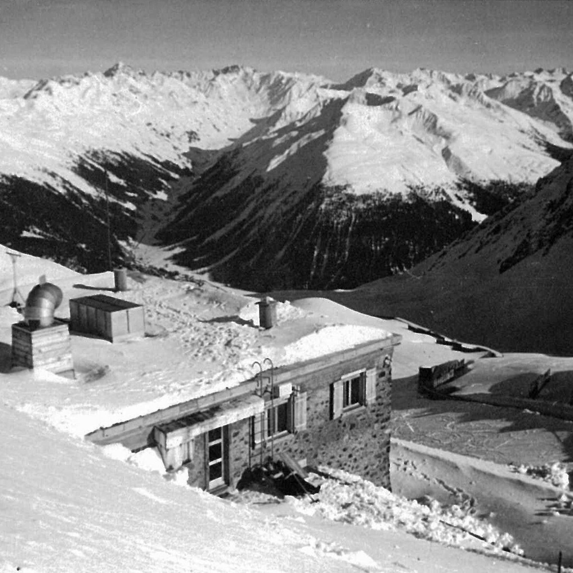Institutsgebäude SLF, Weissfluhjoch Davos 1947