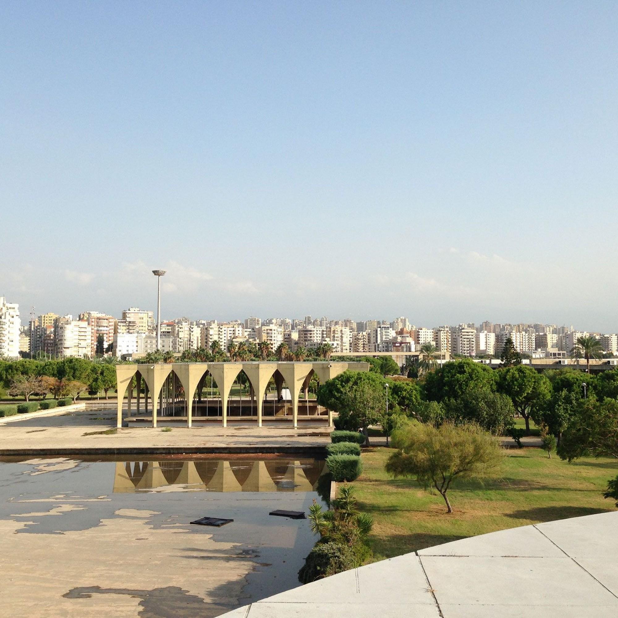 Messegelände in Tripolis