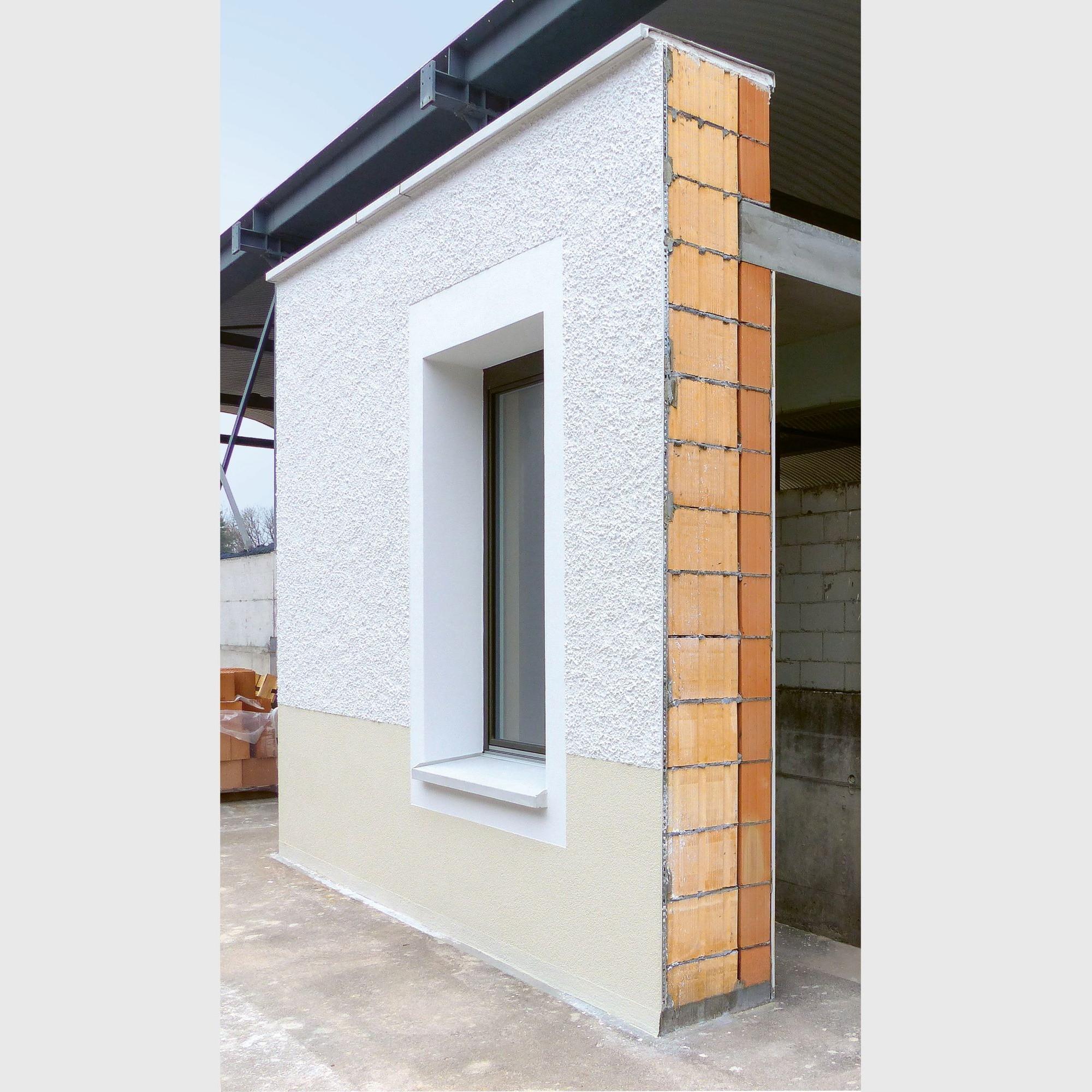 KISmur-Fassade im Querschnitt.