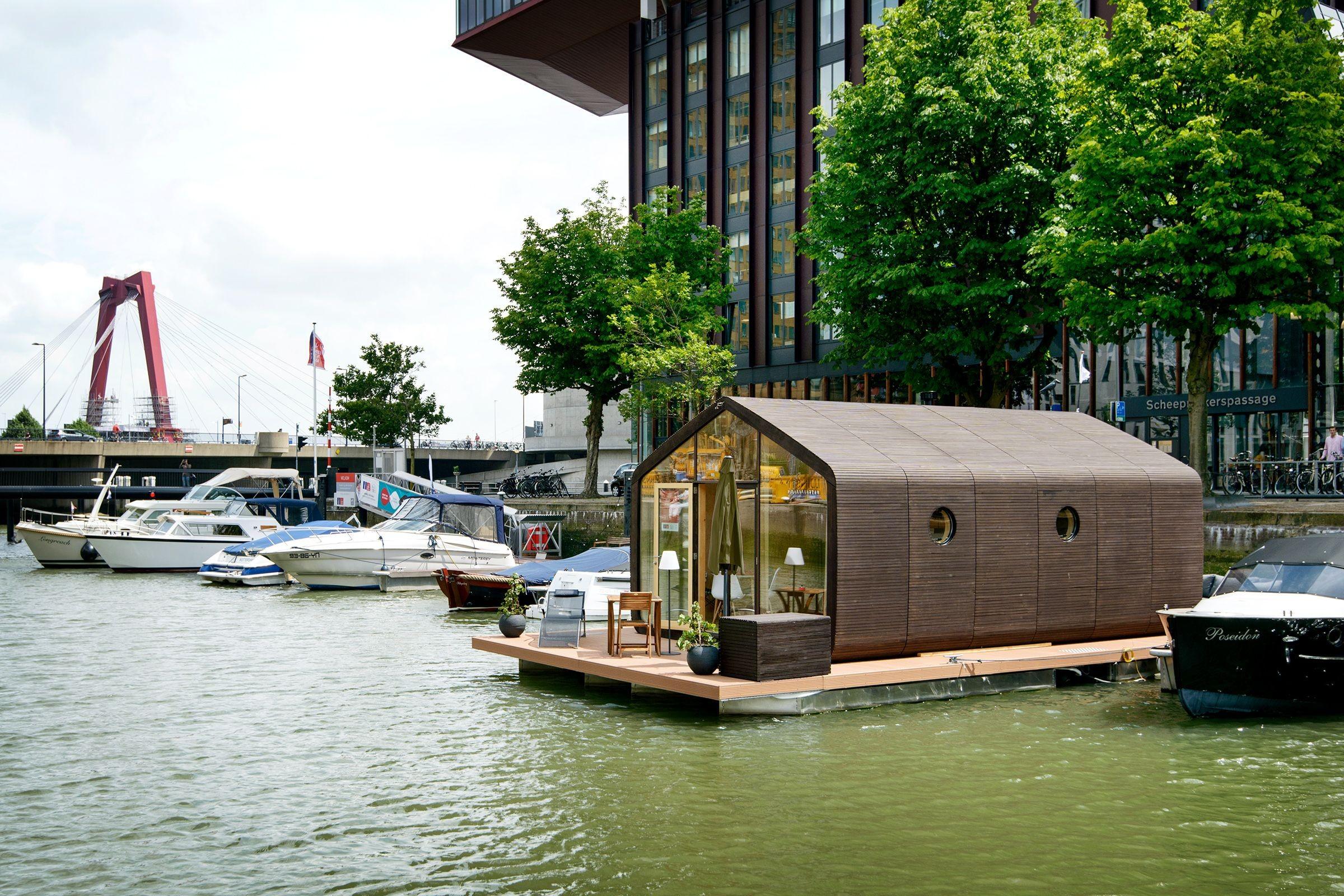 «Wikkelboat» in Rotterdam