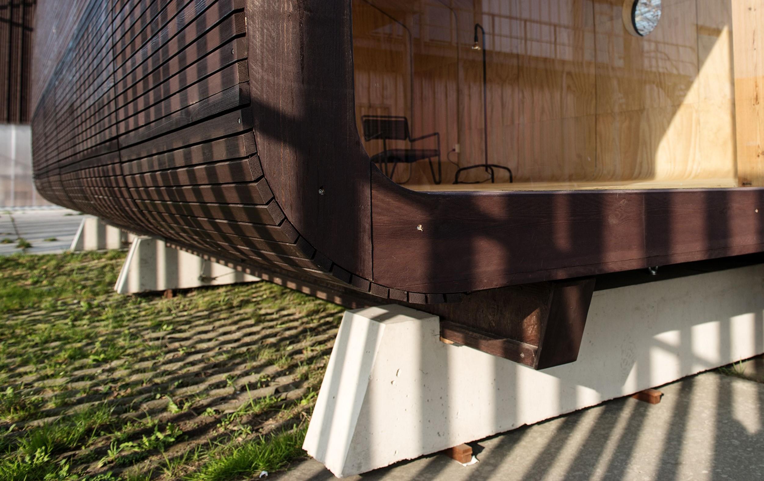 Grundrahmen Fundament Wikkelhouse