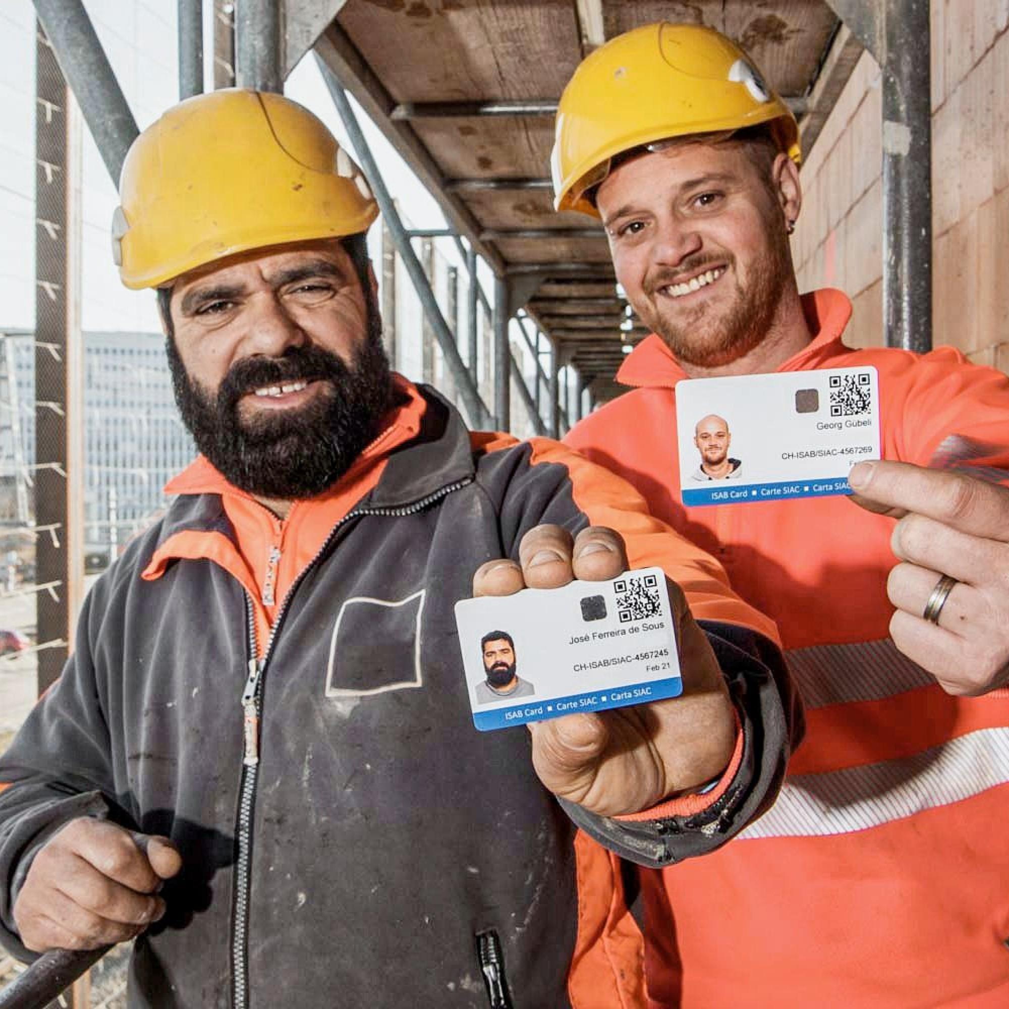 Die Isab-Card ermöglicht einfache Kontrollen.