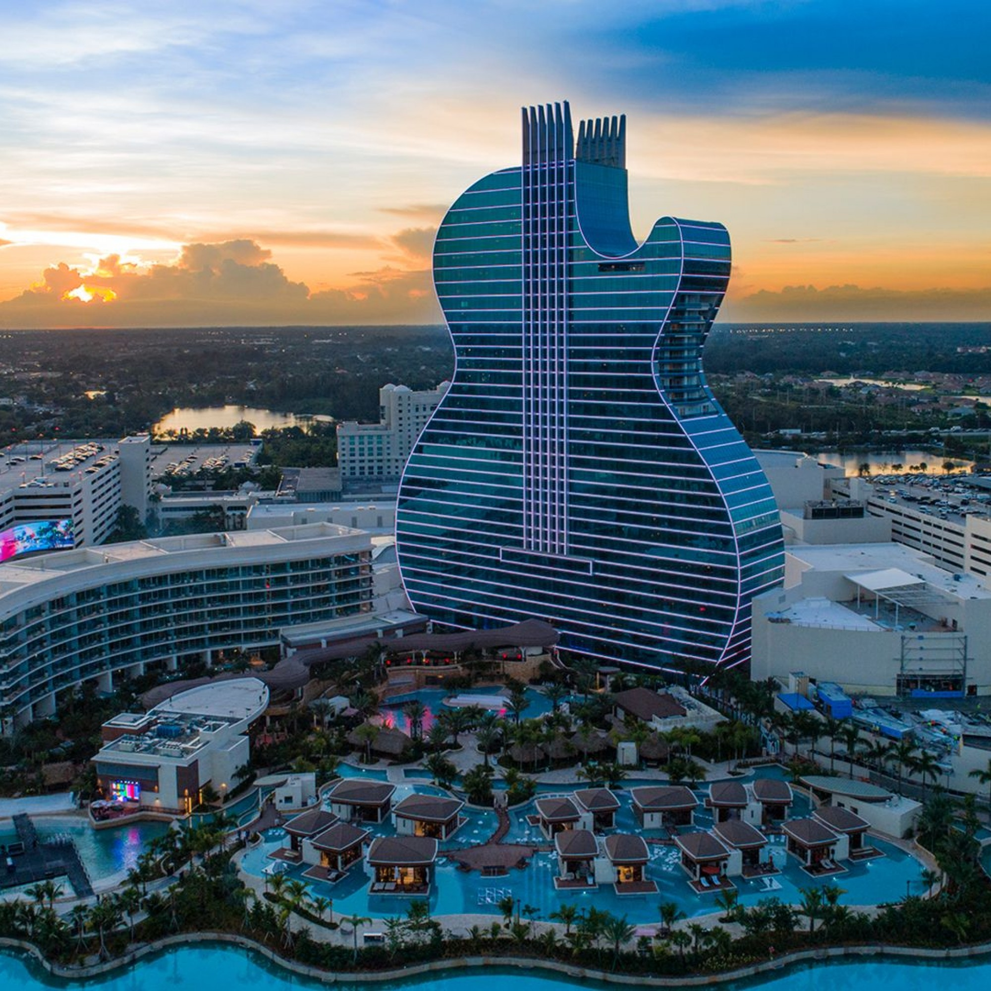 Hard Rock Hotel in Hollywood (Florida)