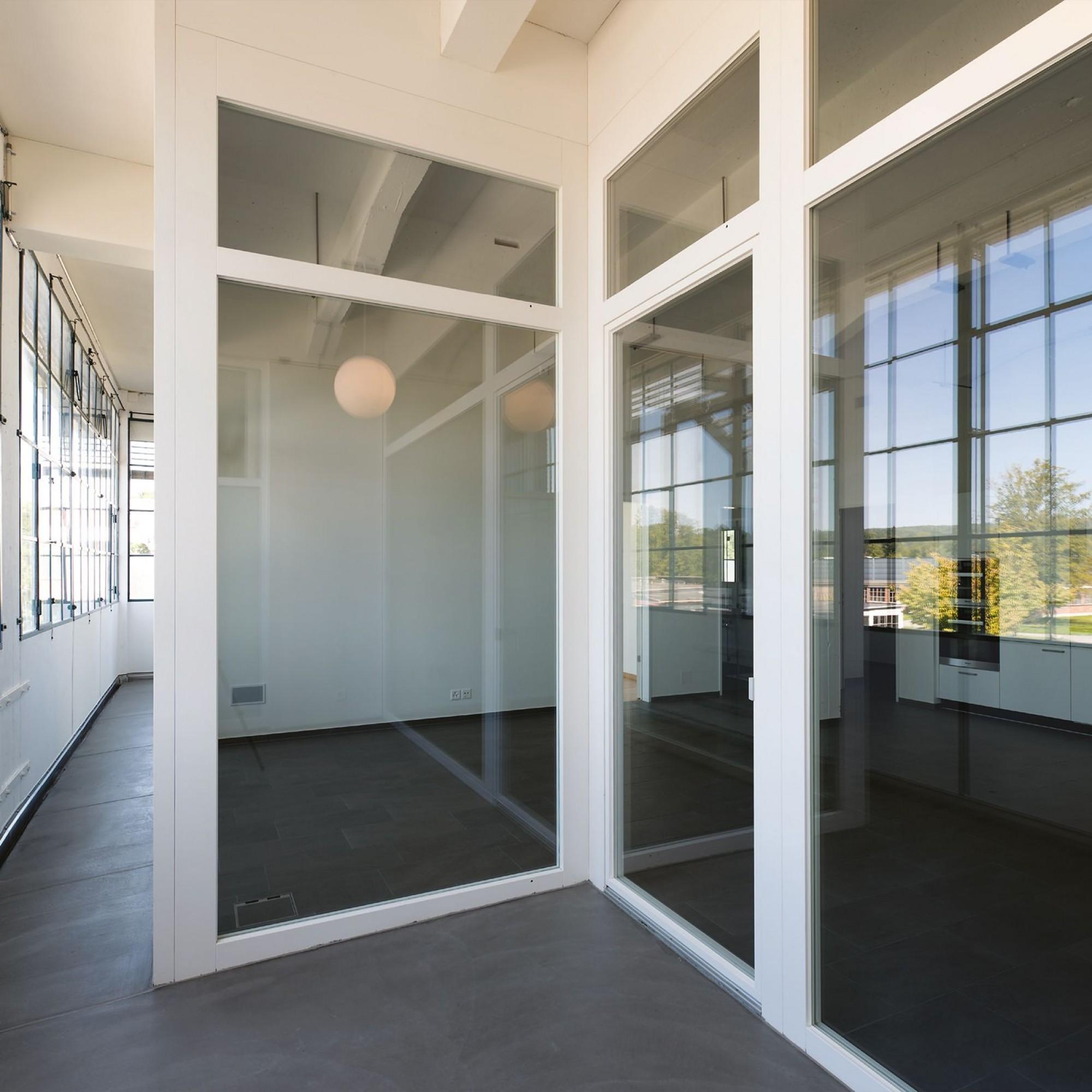 Bata-Park, umgebaute Werkhalle