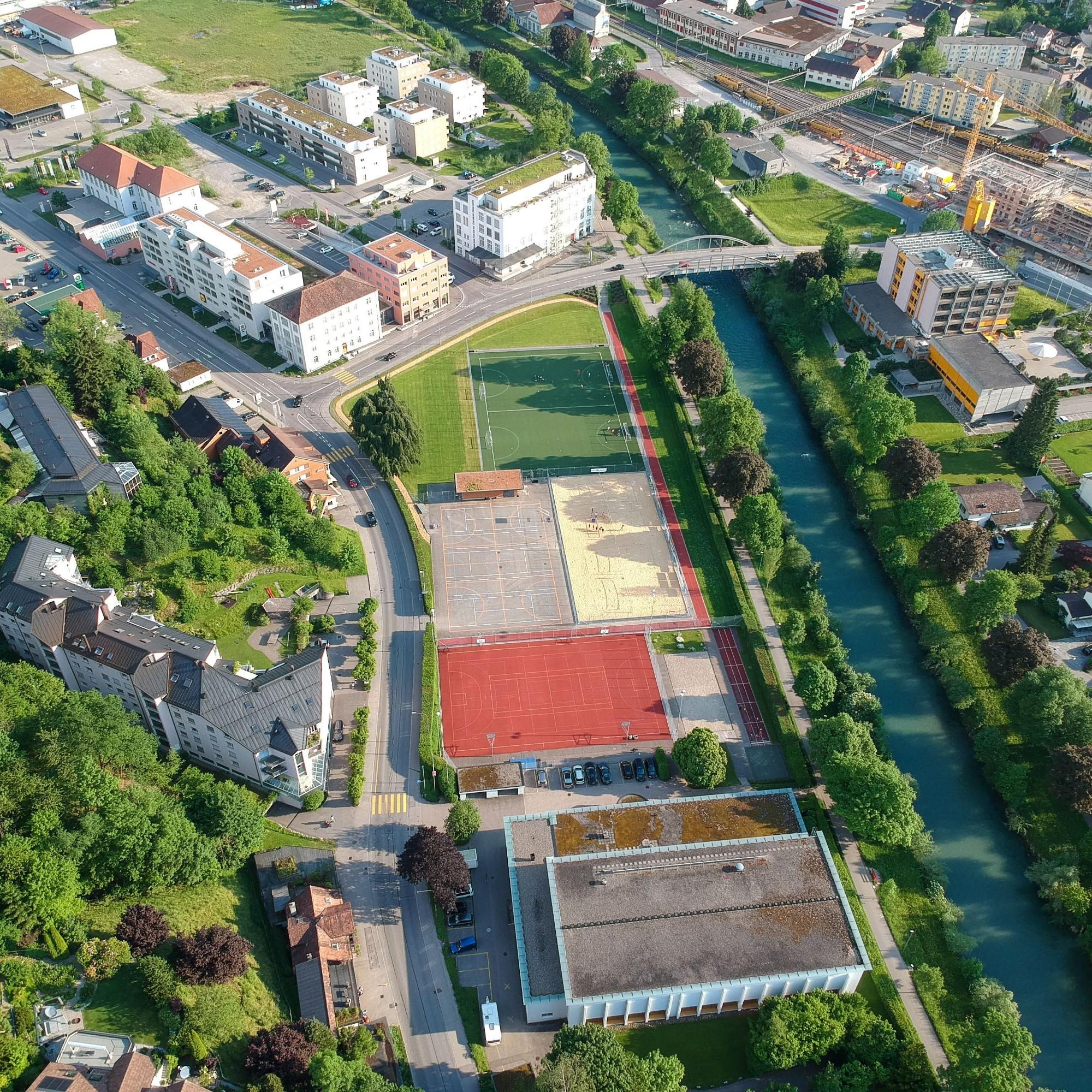 Wattwil Luftaufnahme